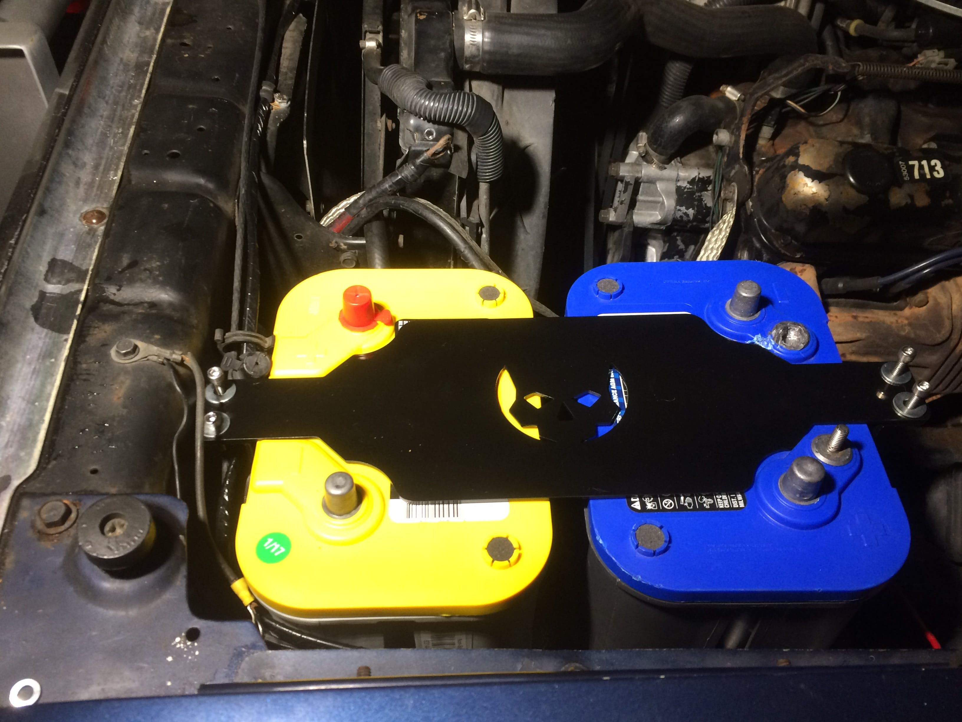 Ballistic 34 78 Dual Short Optima Battery Box Fabrication Jeep Wiring User Picture