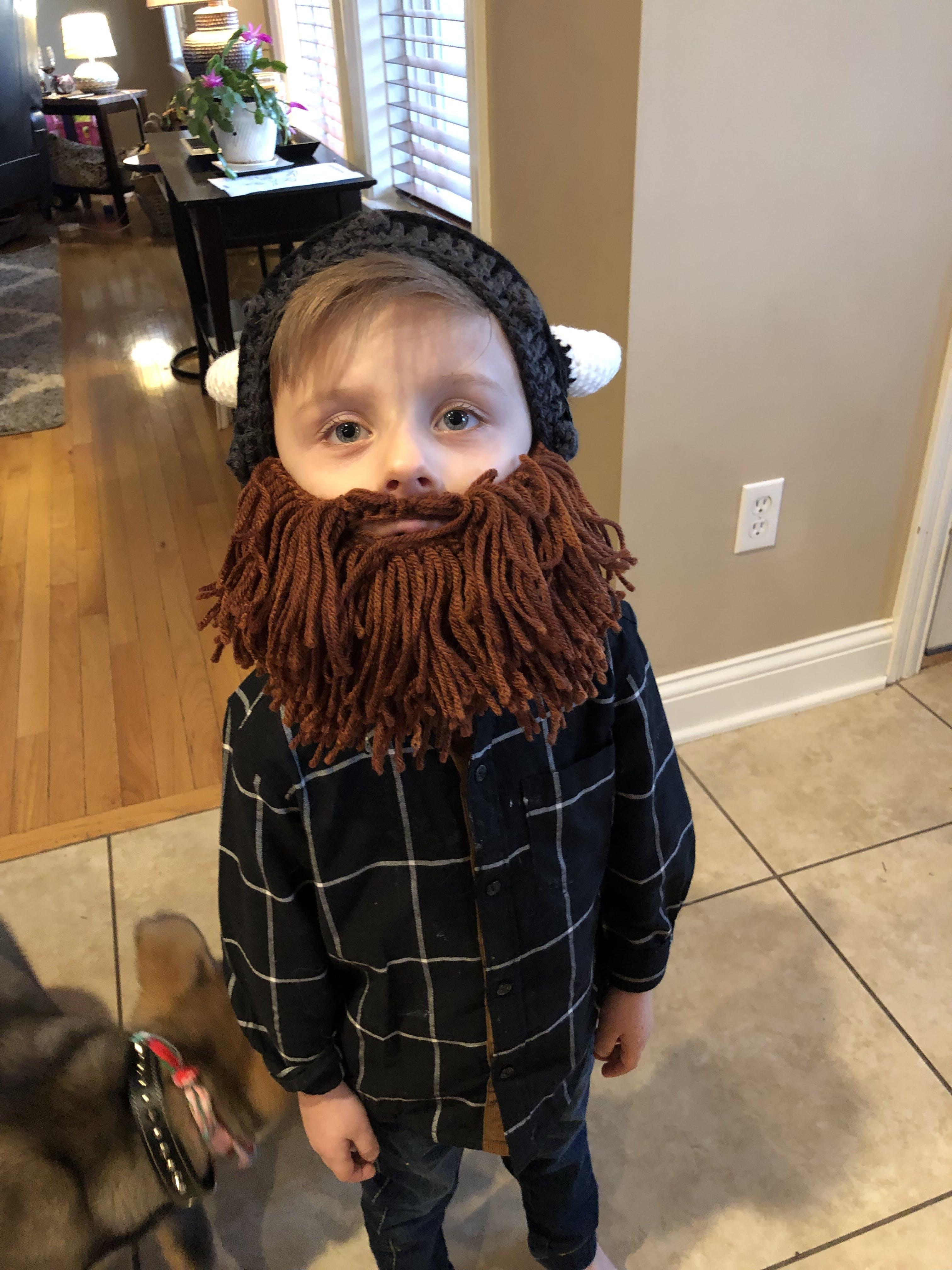Beard Hat Beanie - Lumberjack Beard Head – Beard Head®