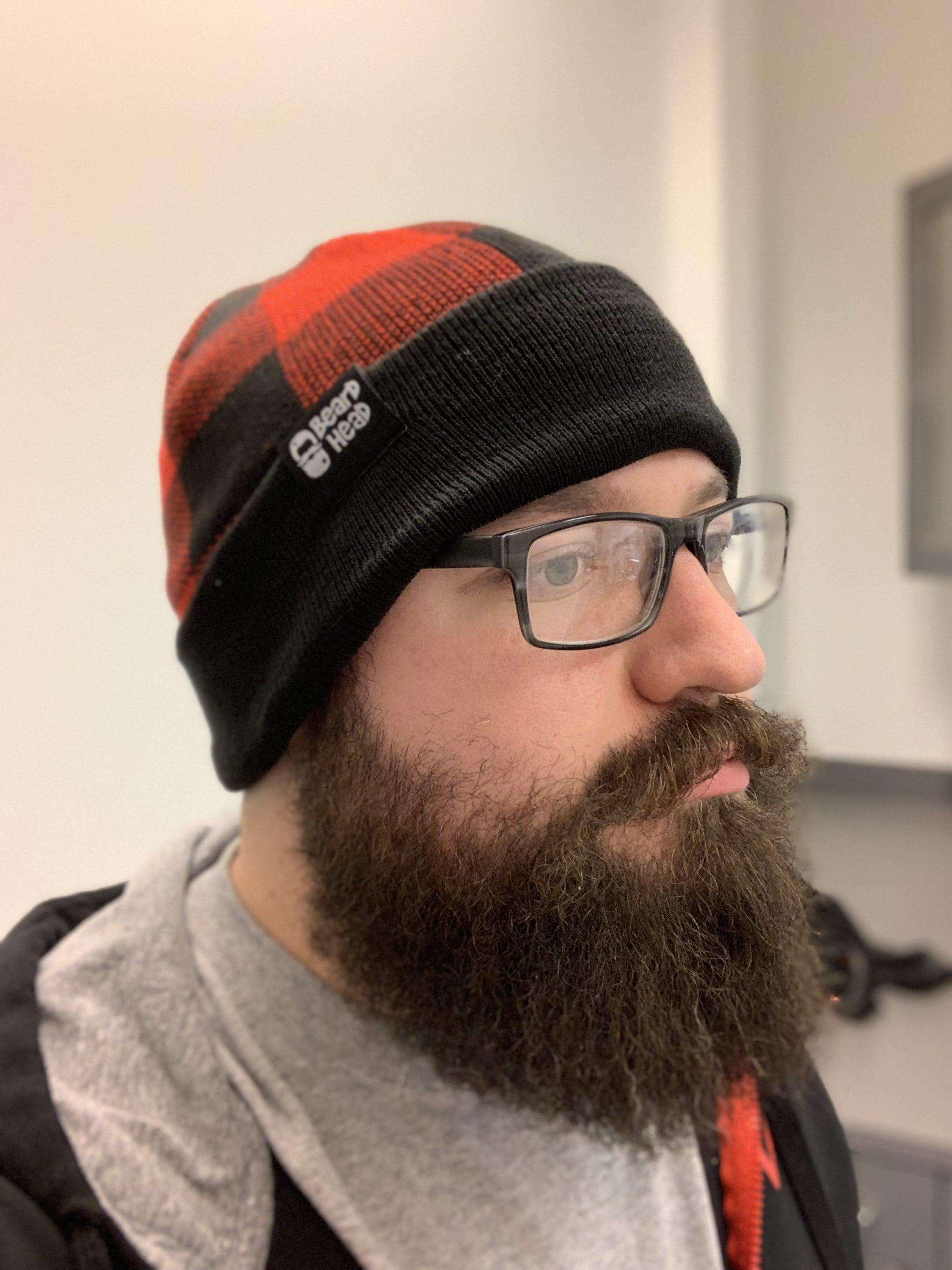 6ba5e79b303 Beard Hat Beanie - Lumberjack Beard Head – Beard Head®