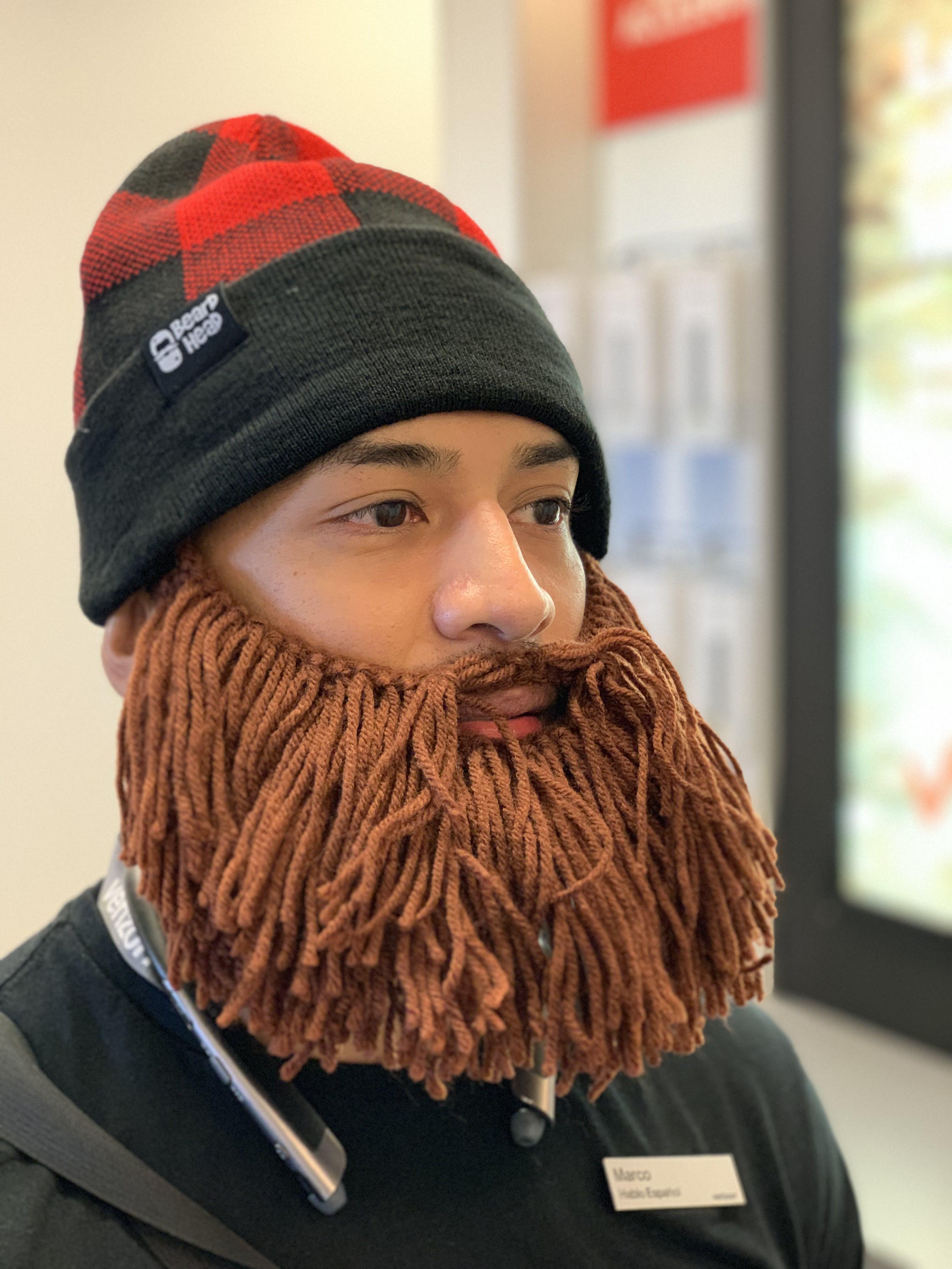 ffa7029fa17 Beard Hat Beanie - Lumberjack Beard Head – Beard Head®