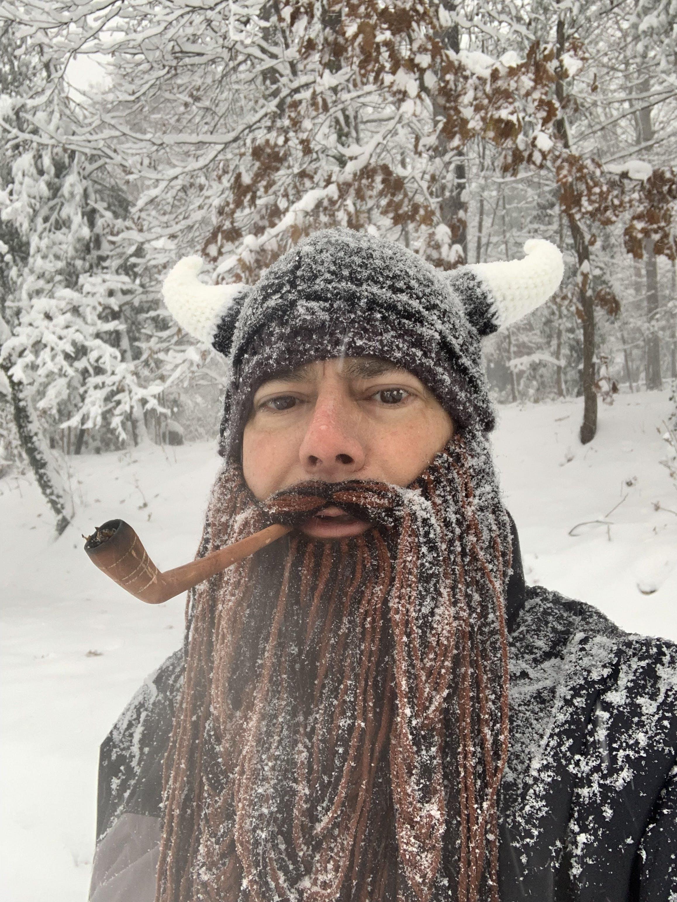4aea85082aa Viking Knit Beard Hat - Beard Head – Beard Head®