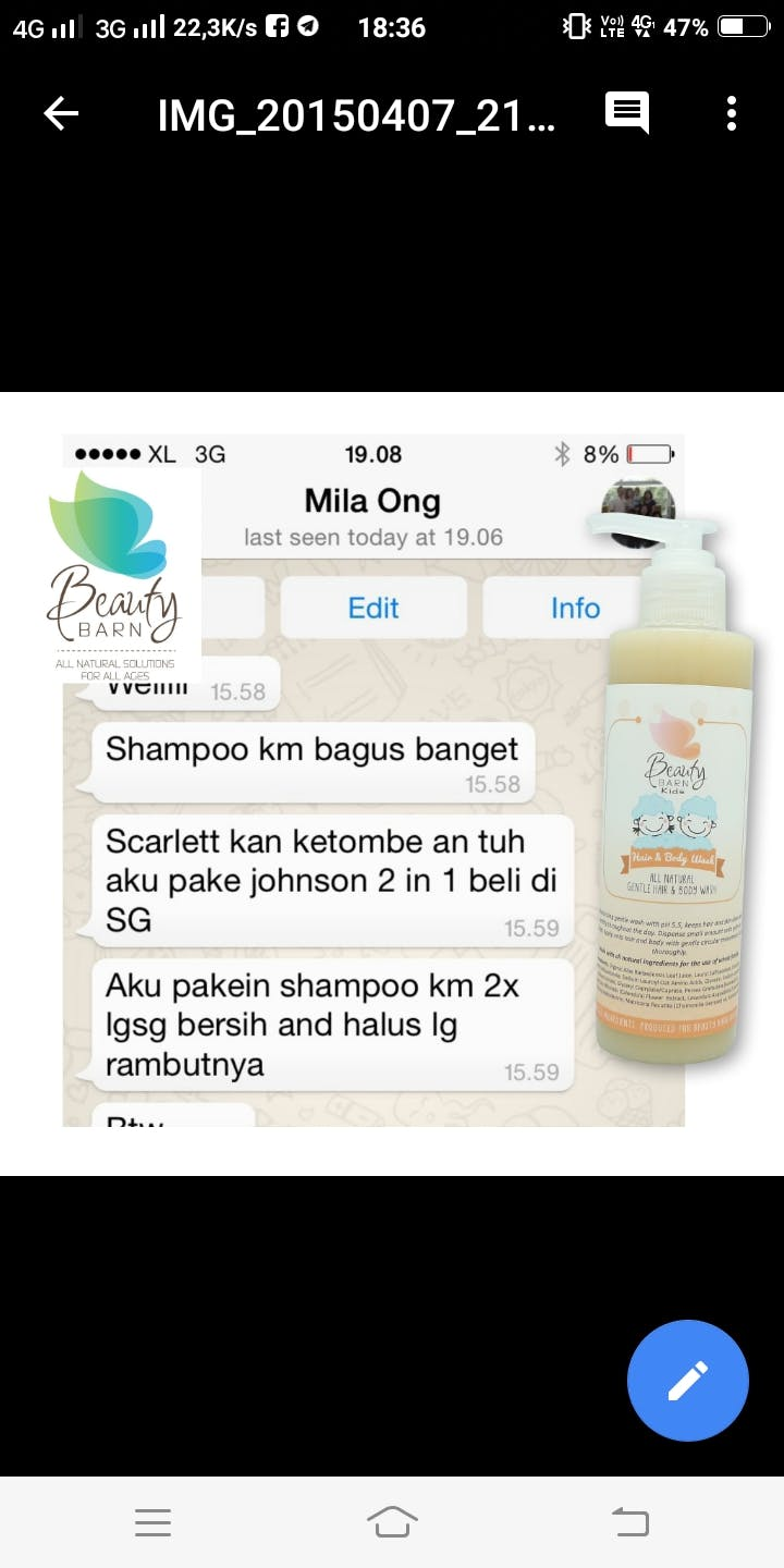 Beauty Barn Kid Hair Shampoo Indonesia Sampo Ketombe User Picture