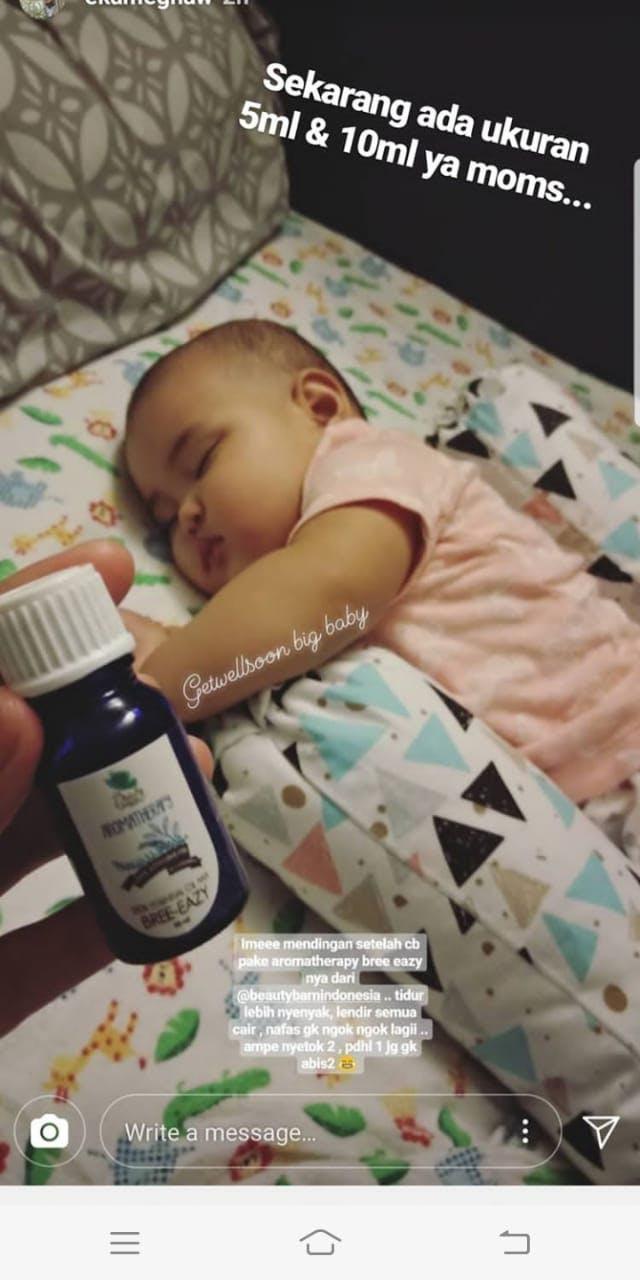 Beauty Barn Aromatherapy Breathe Easy 10ml Daftar Harga Terbaru Feeve 30ml Tidur Lebih Nyenyak Lendir Semua Cair Nafas Engga Ngok Lagi