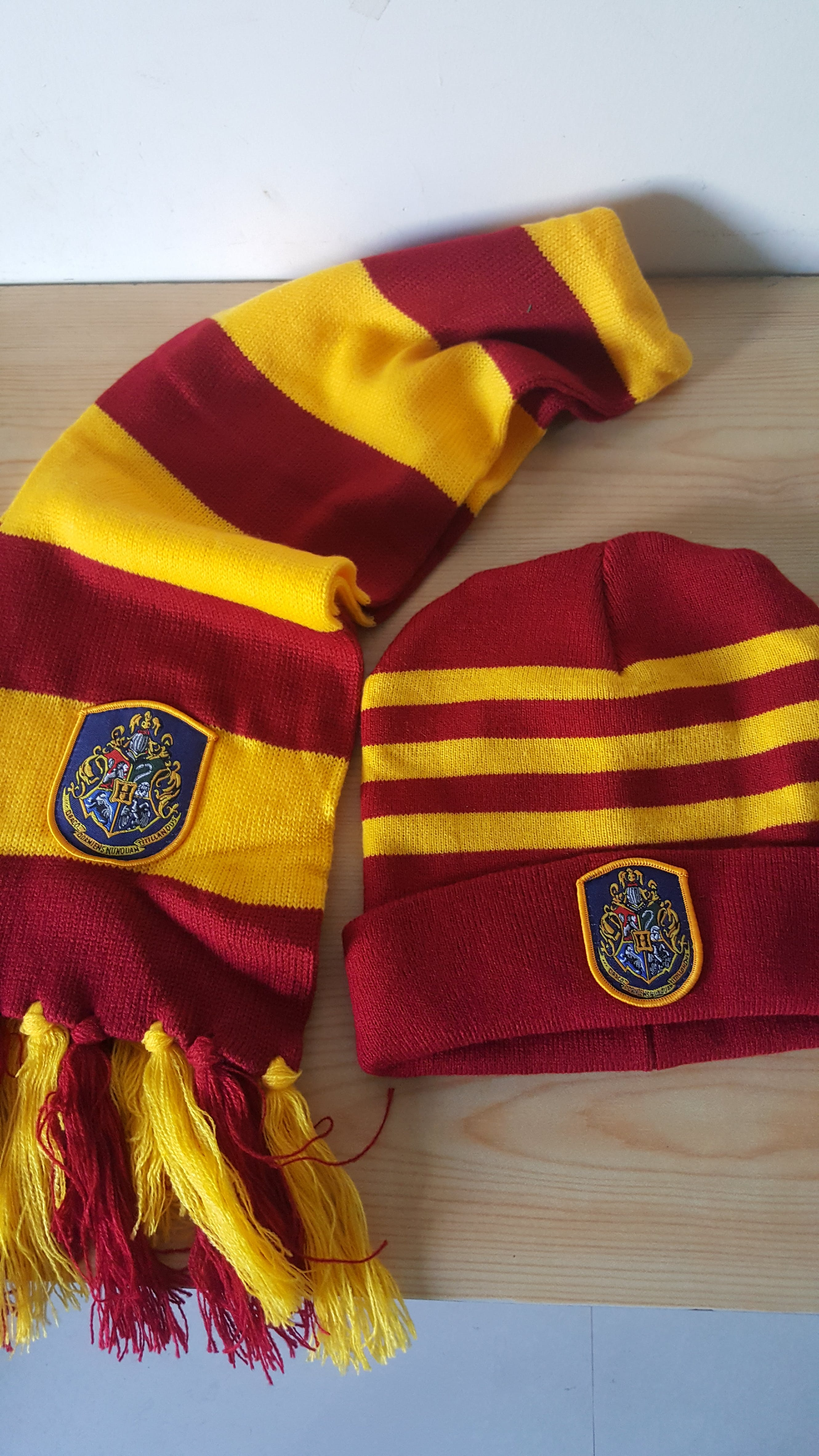 Harry Potter Scarf and Hat Set