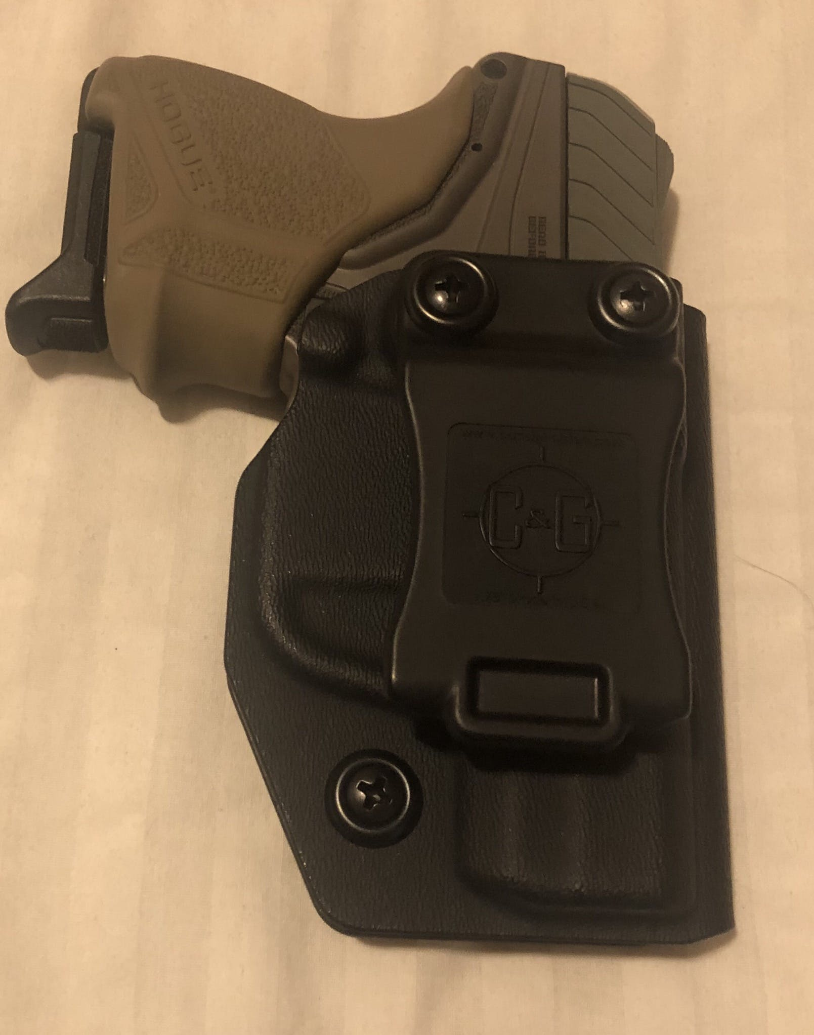 Ruger LCP II IWB Covert Kydex Holster - Quickship