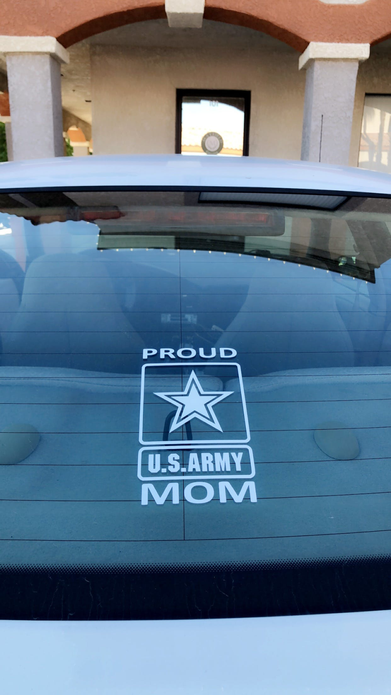 Army Proud Mom Military Window Decal Stickers