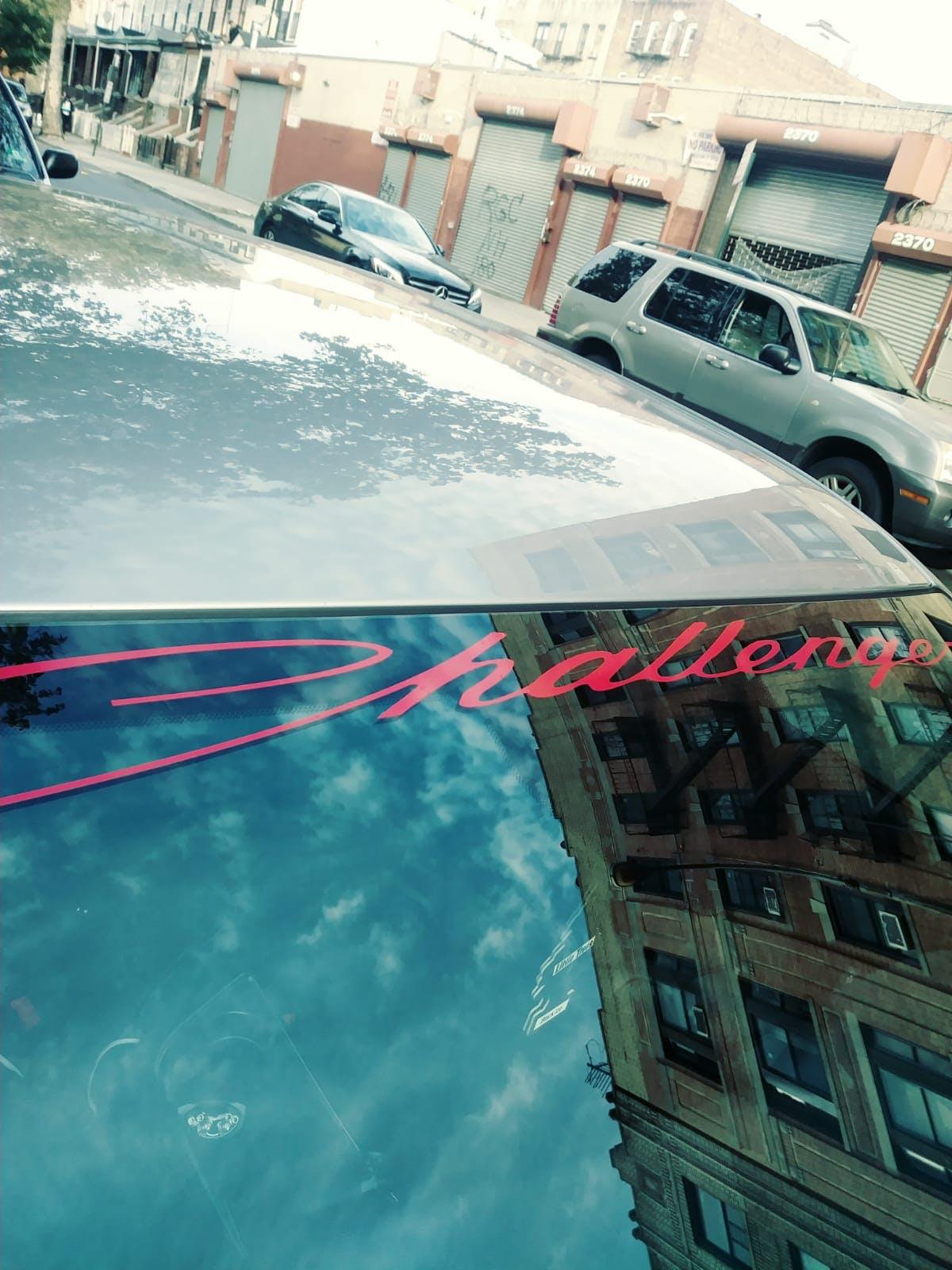 Dodge Challenger Script Windshield Banner Decal Sticker