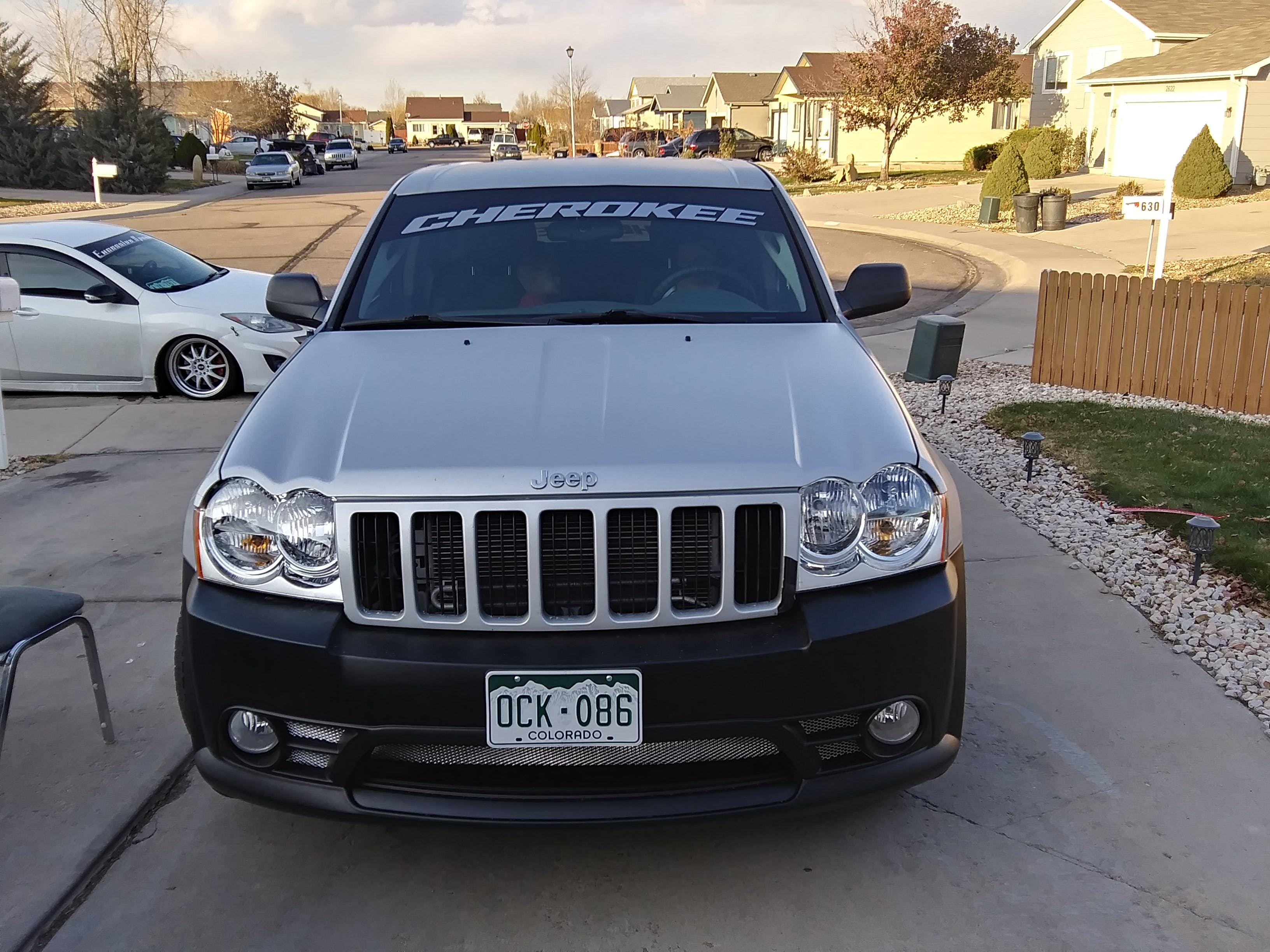 Jeep Cherokee Windshield Banner Decal Sticker A2