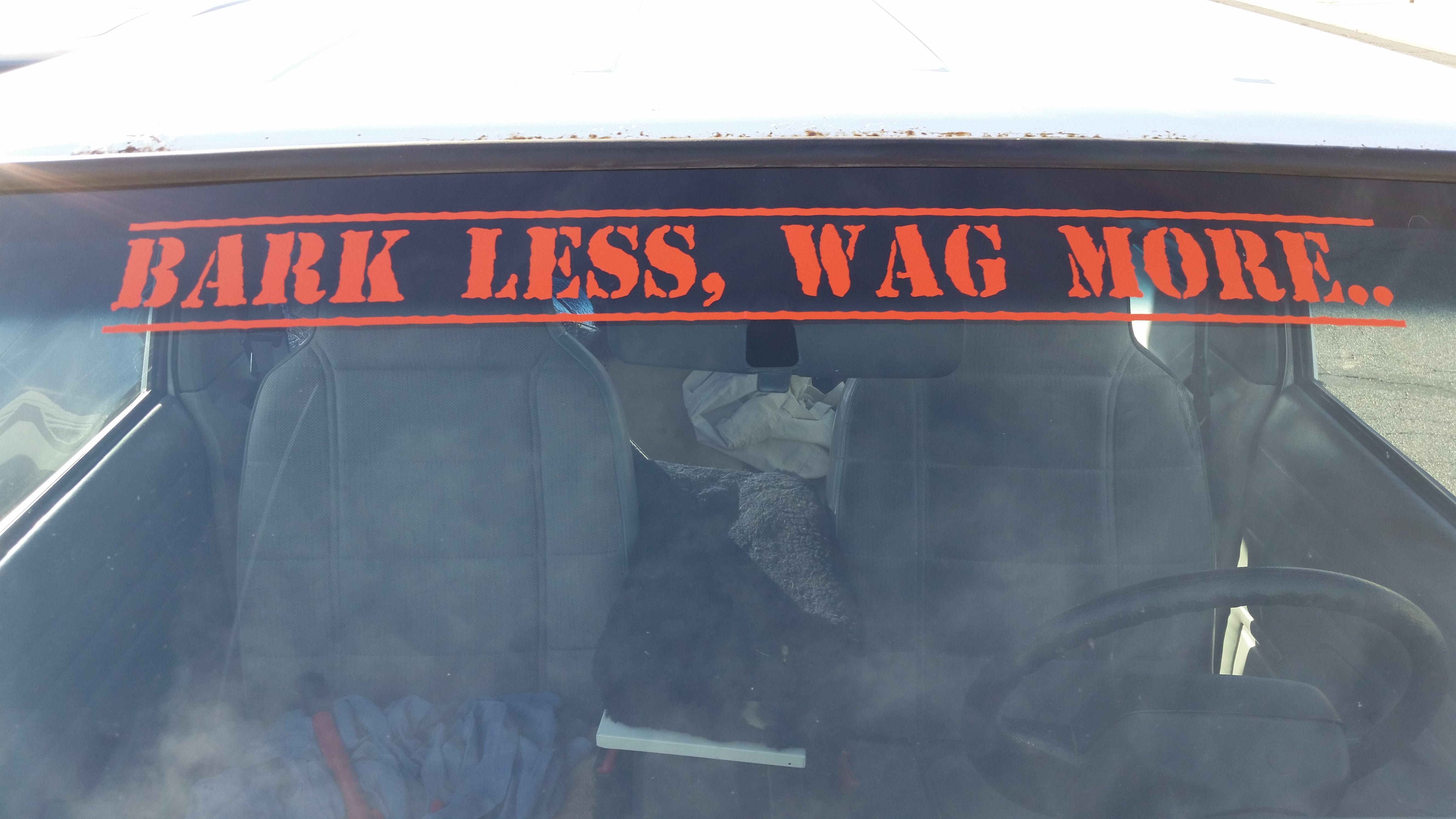 Jeep Custom Text Windshield Banner Decal Sticker