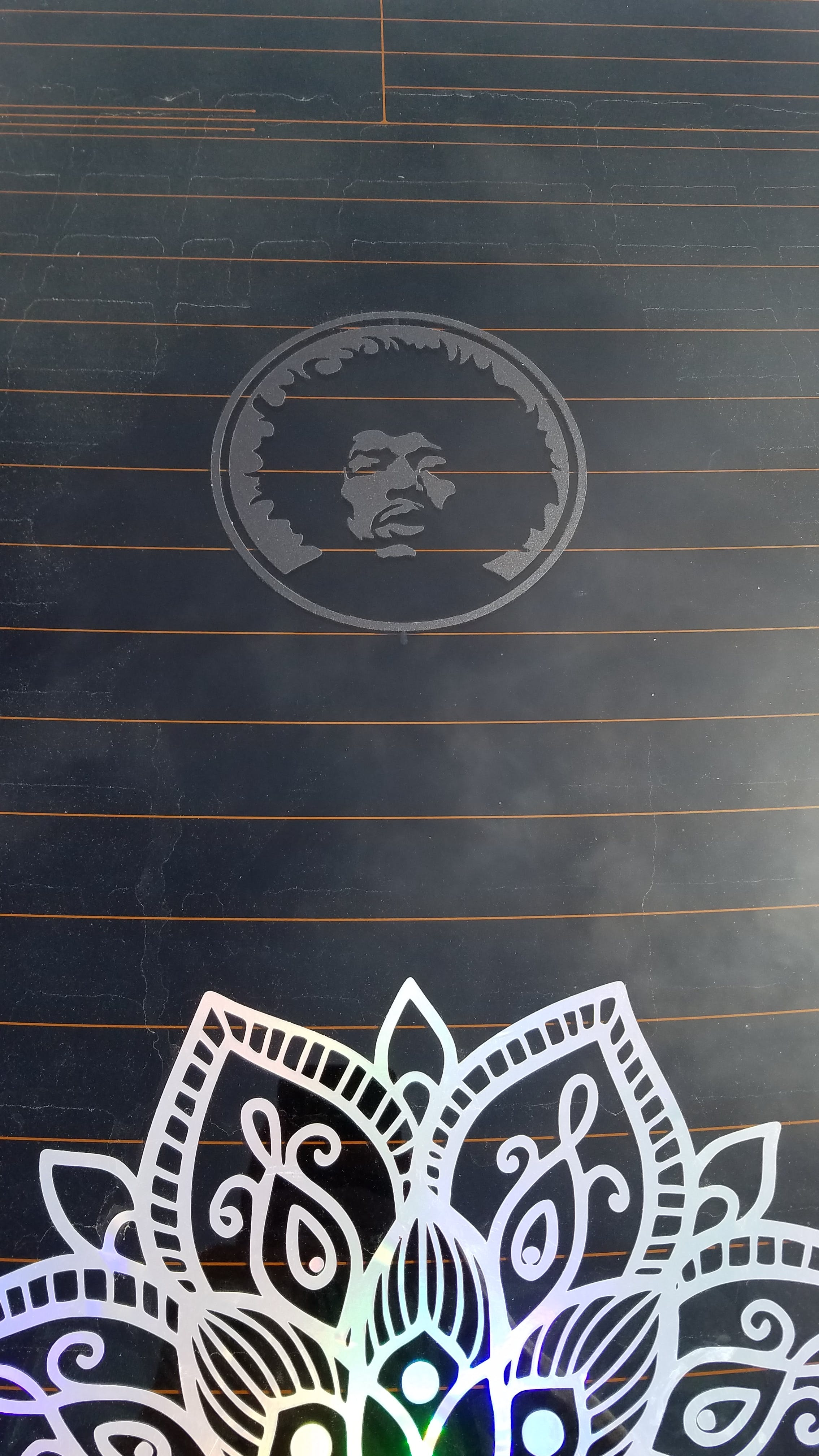 Jimi Hendrix  - Band Stickers