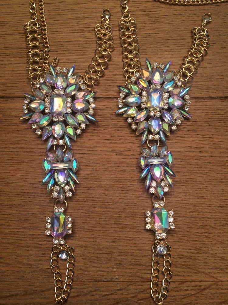 1 pc Crystal Anklet Bracelet