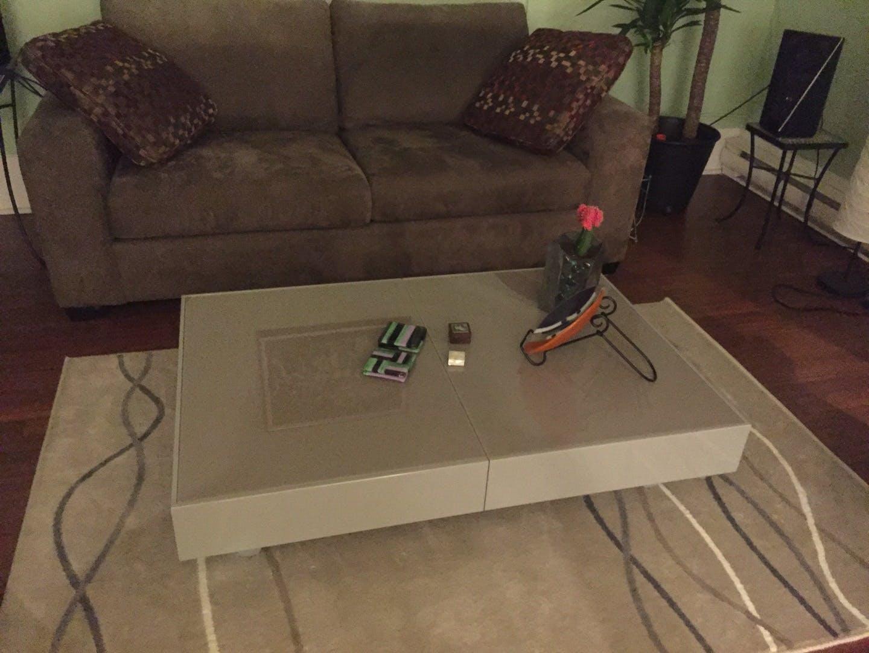 Glass Box Coffee Convertible Furniture Expand