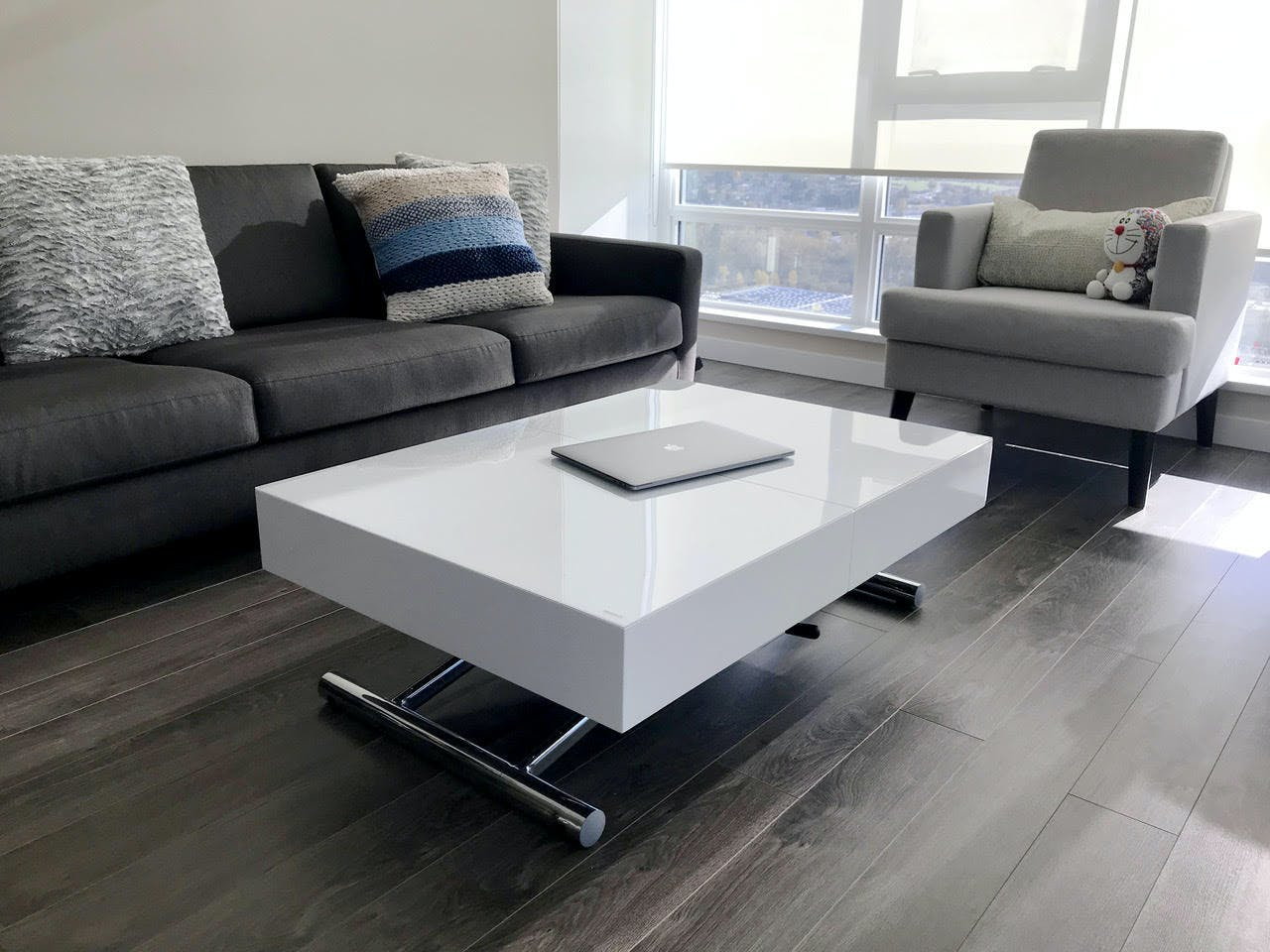 Expandable Box Coffee To Table Dining Set