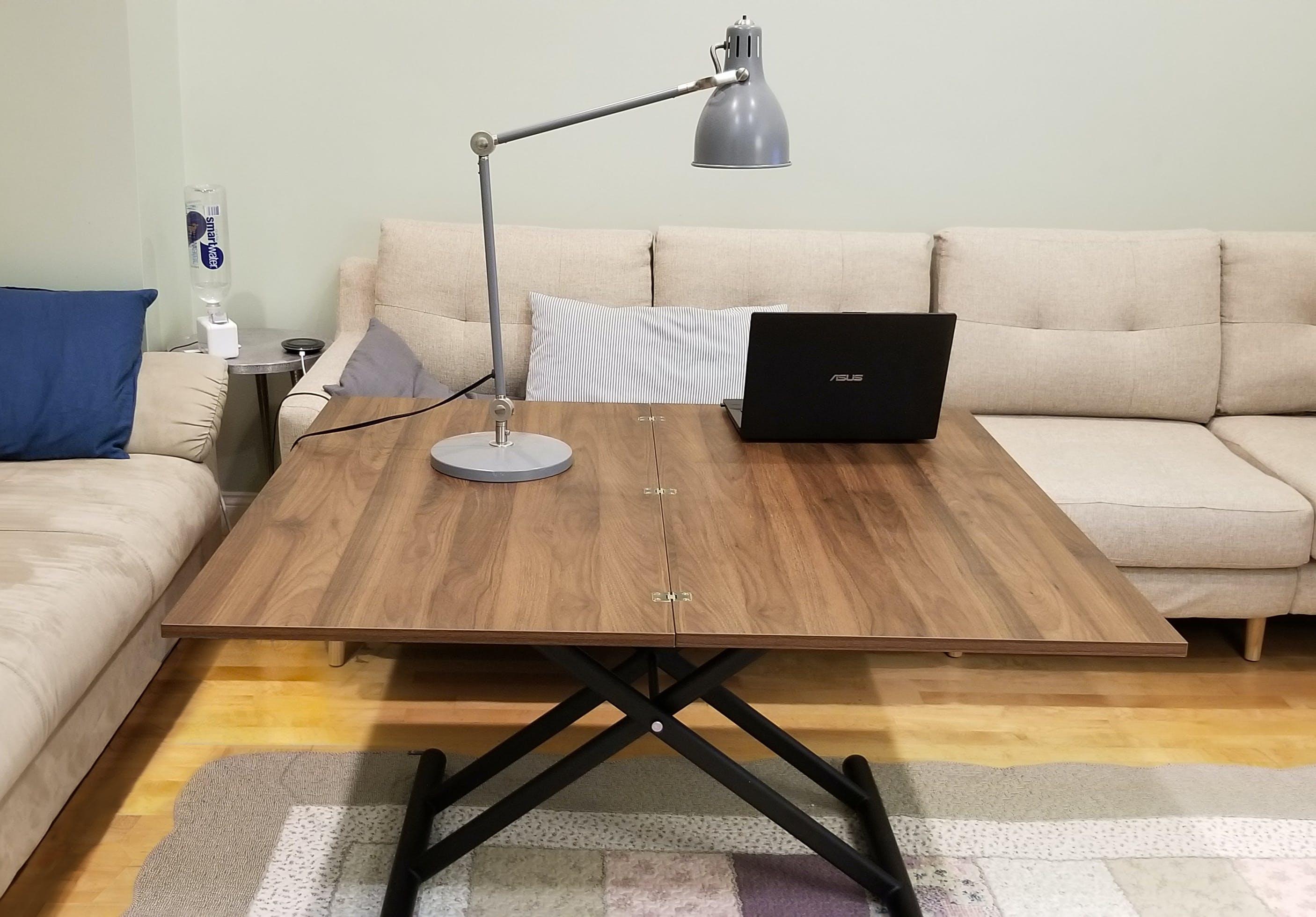 Alzare Square Transforming Coffee Table