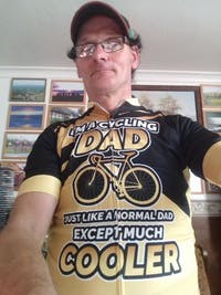 Dad Cycling Kit