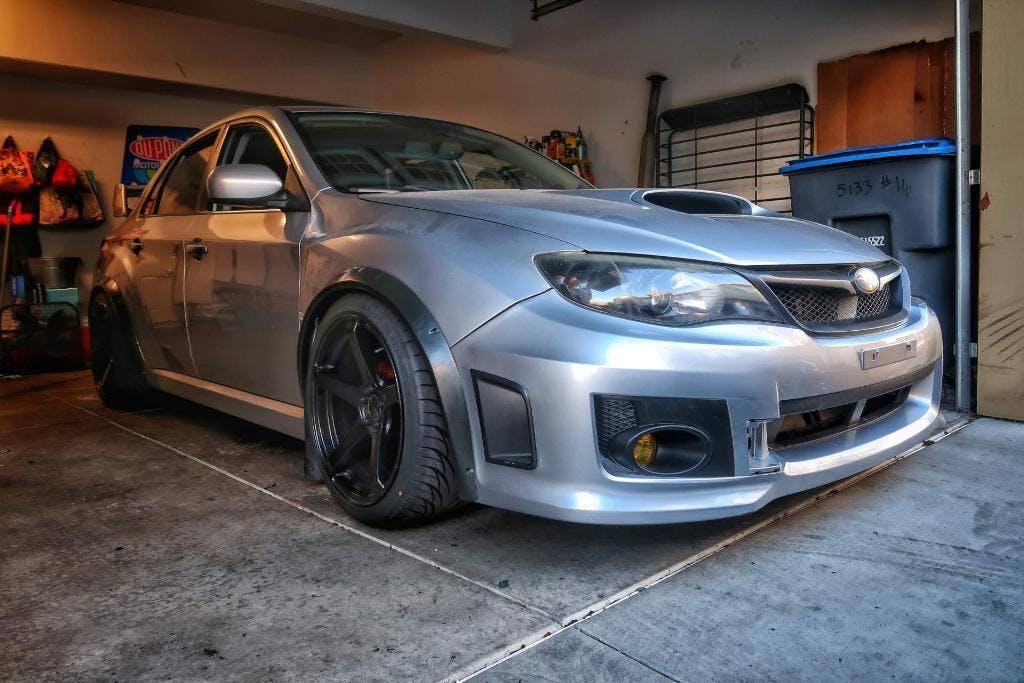 Ht Autos Fender Flares Subaru Wrx Sti Sedan 2011 2014 Import Image Racing
