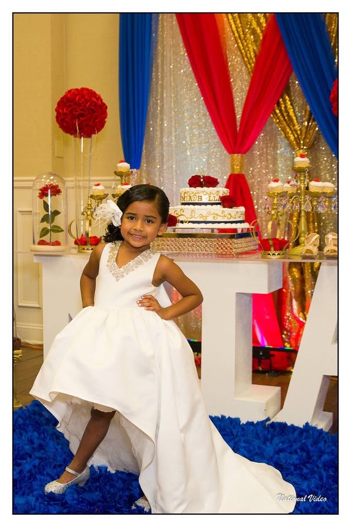 Mia Bella Gown White