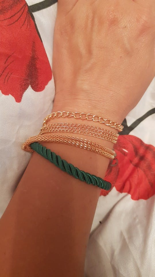 Multilayer Beaded Pendant Bracelets and Bangles
