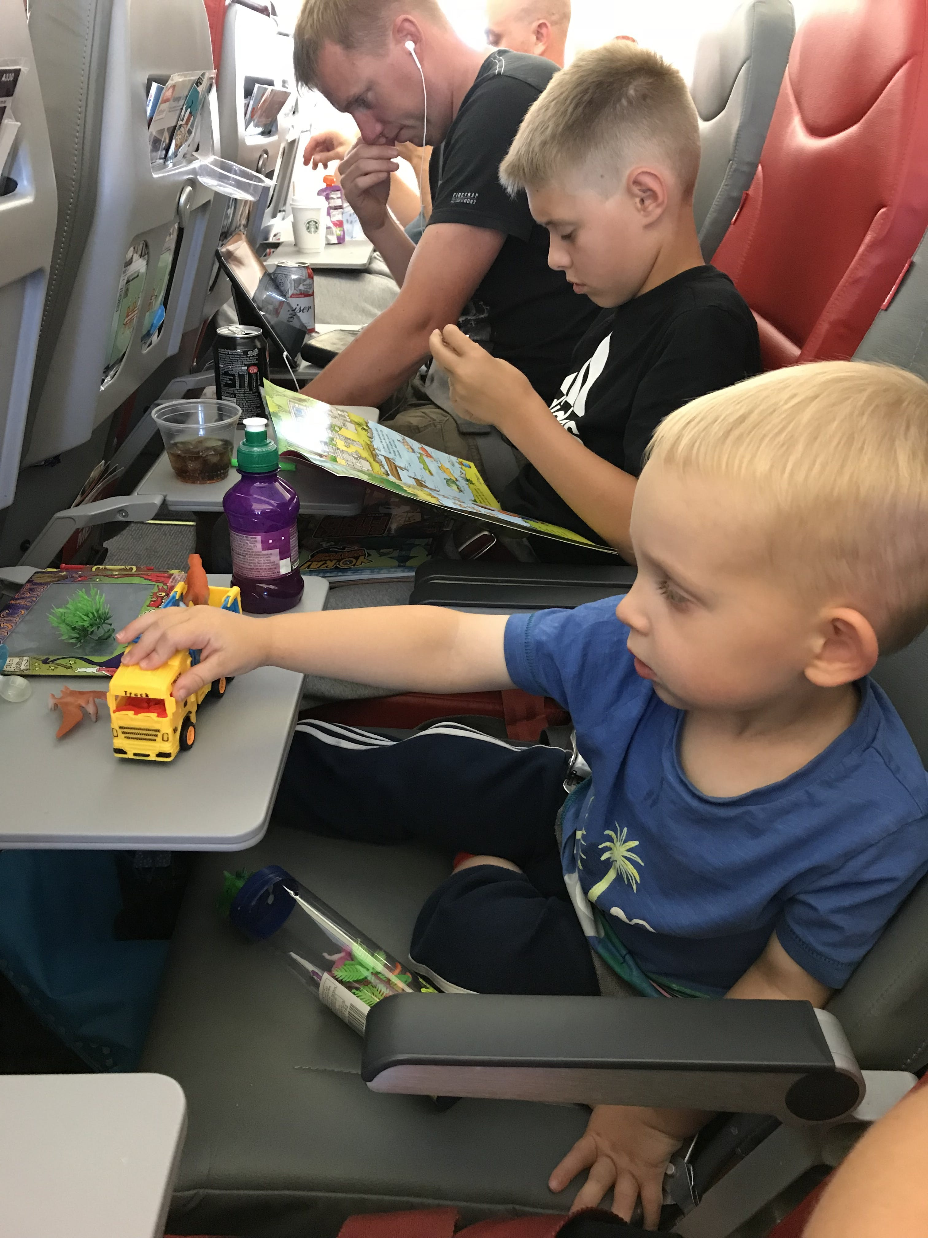 Long Trip: For Boys Age 1-3 Years