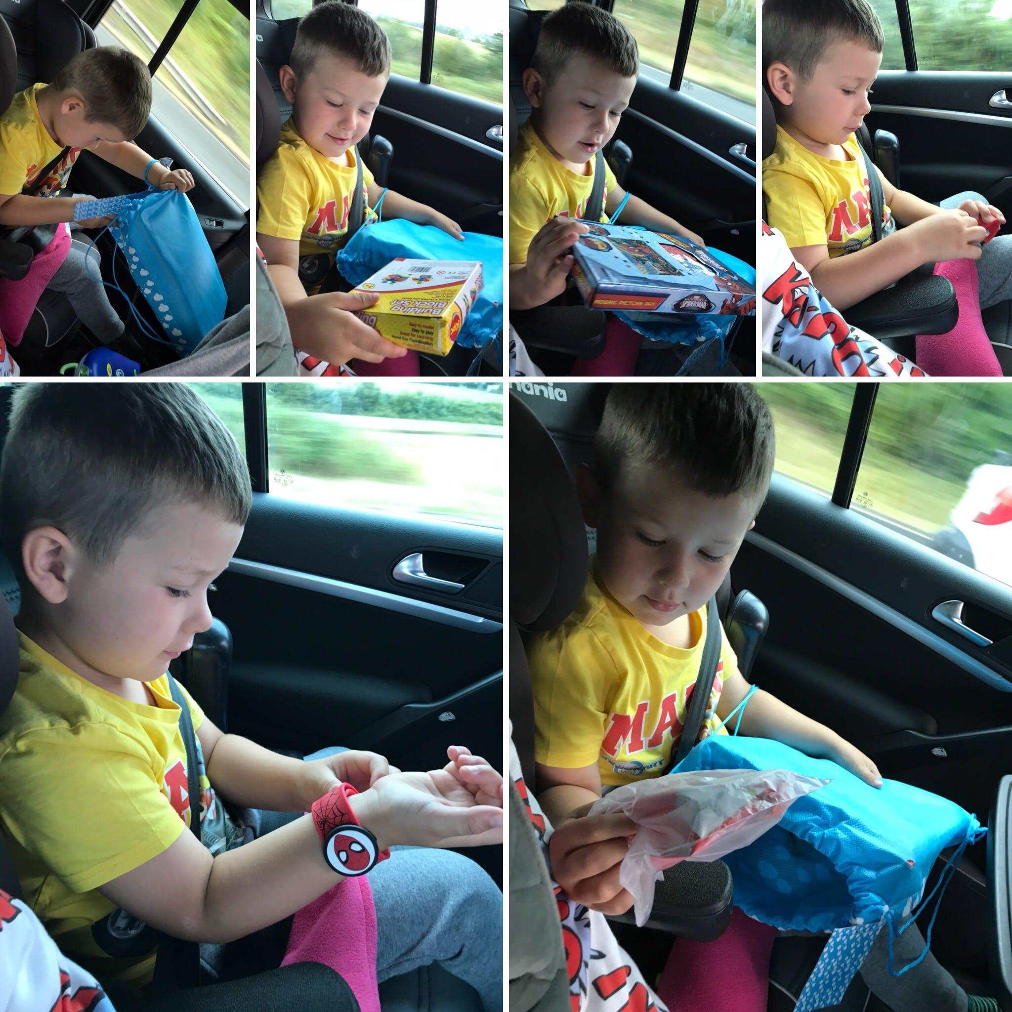 Medium Trip: For Boys Age 3-5 Years