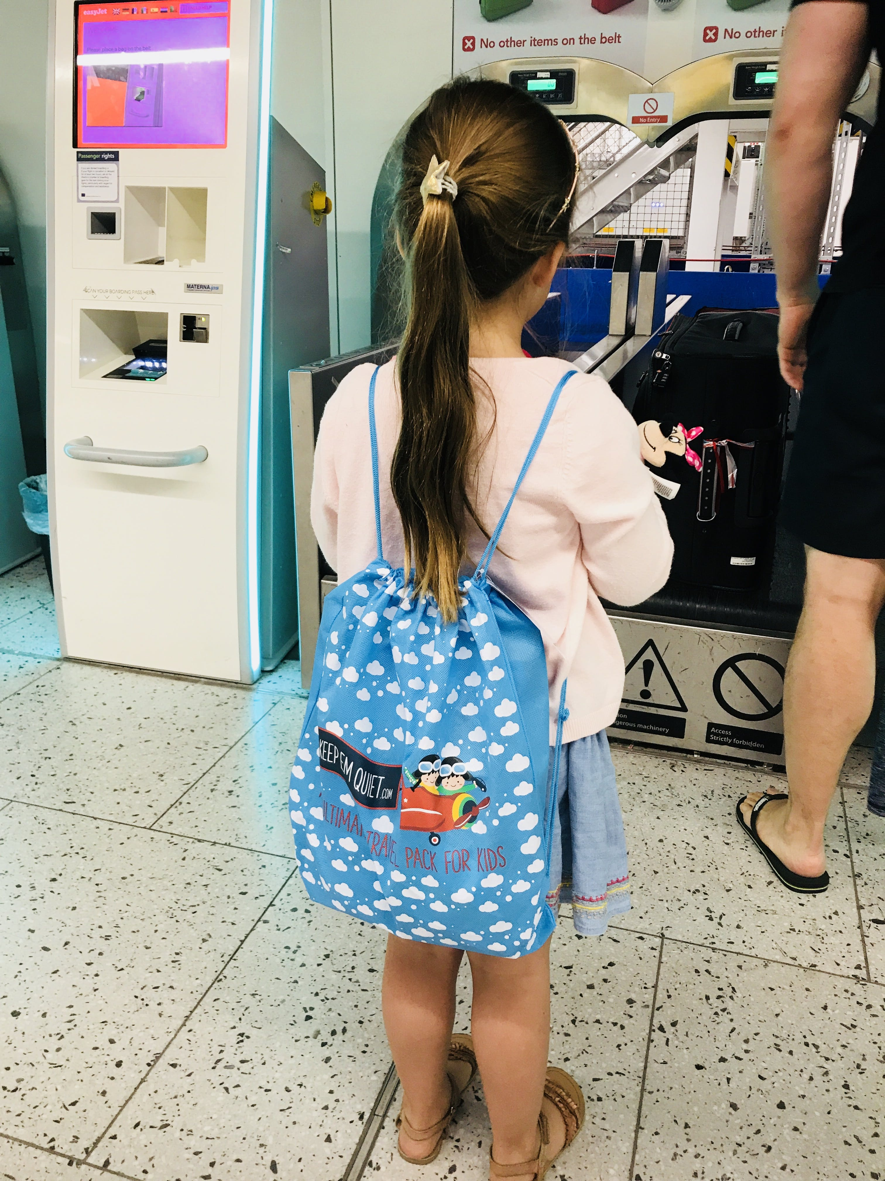 Long Trip: For Girls Age 3-5 Years