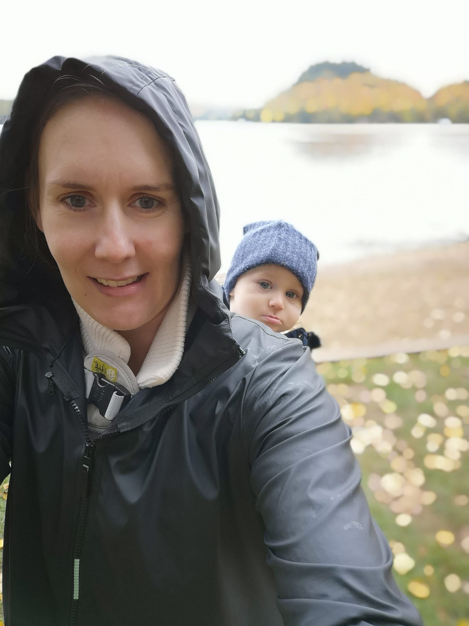 Angel Wings Babywearing Anorak Rain Jacket