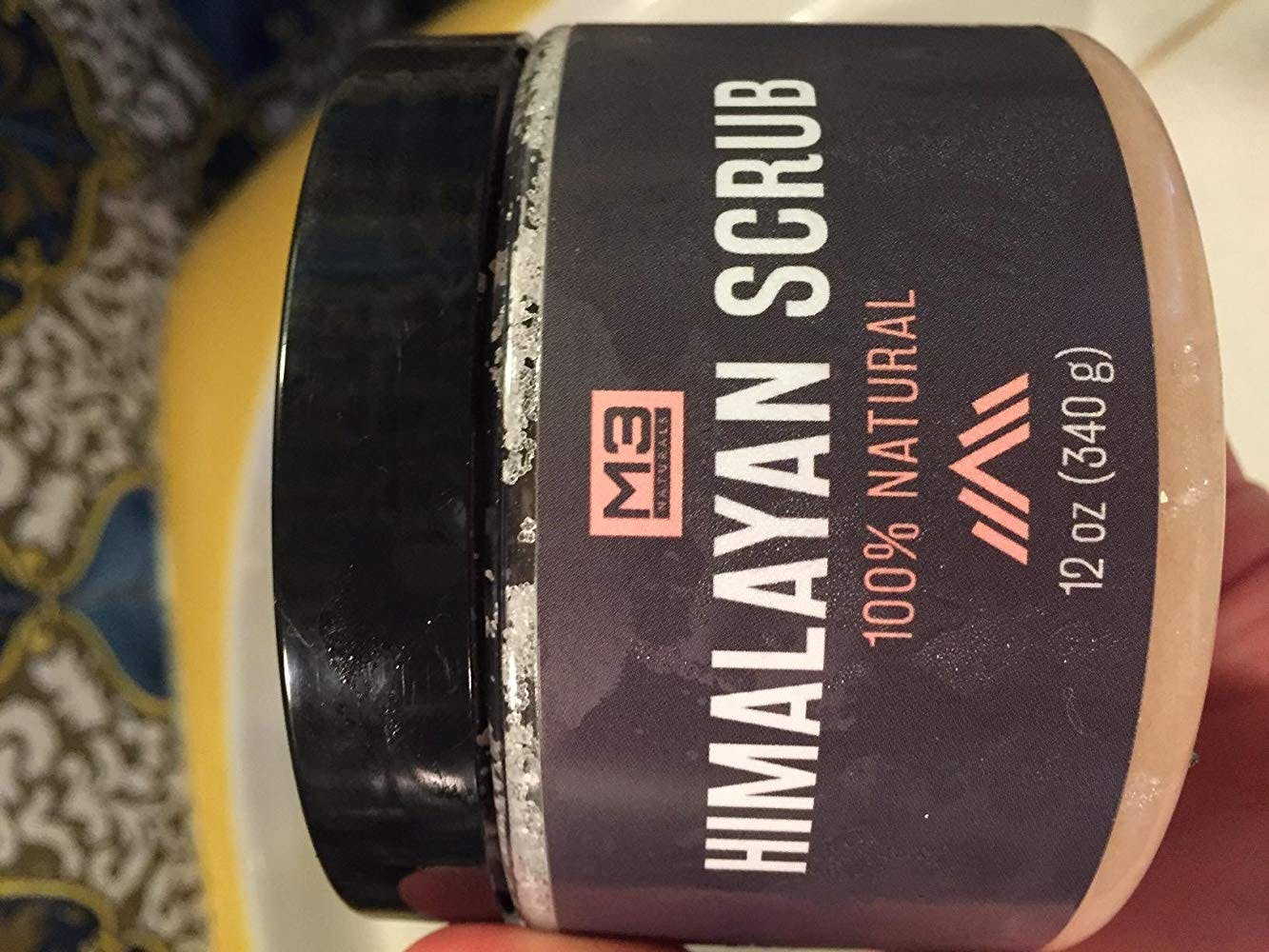 Himalayan Scrub with Lychee Essential Oil