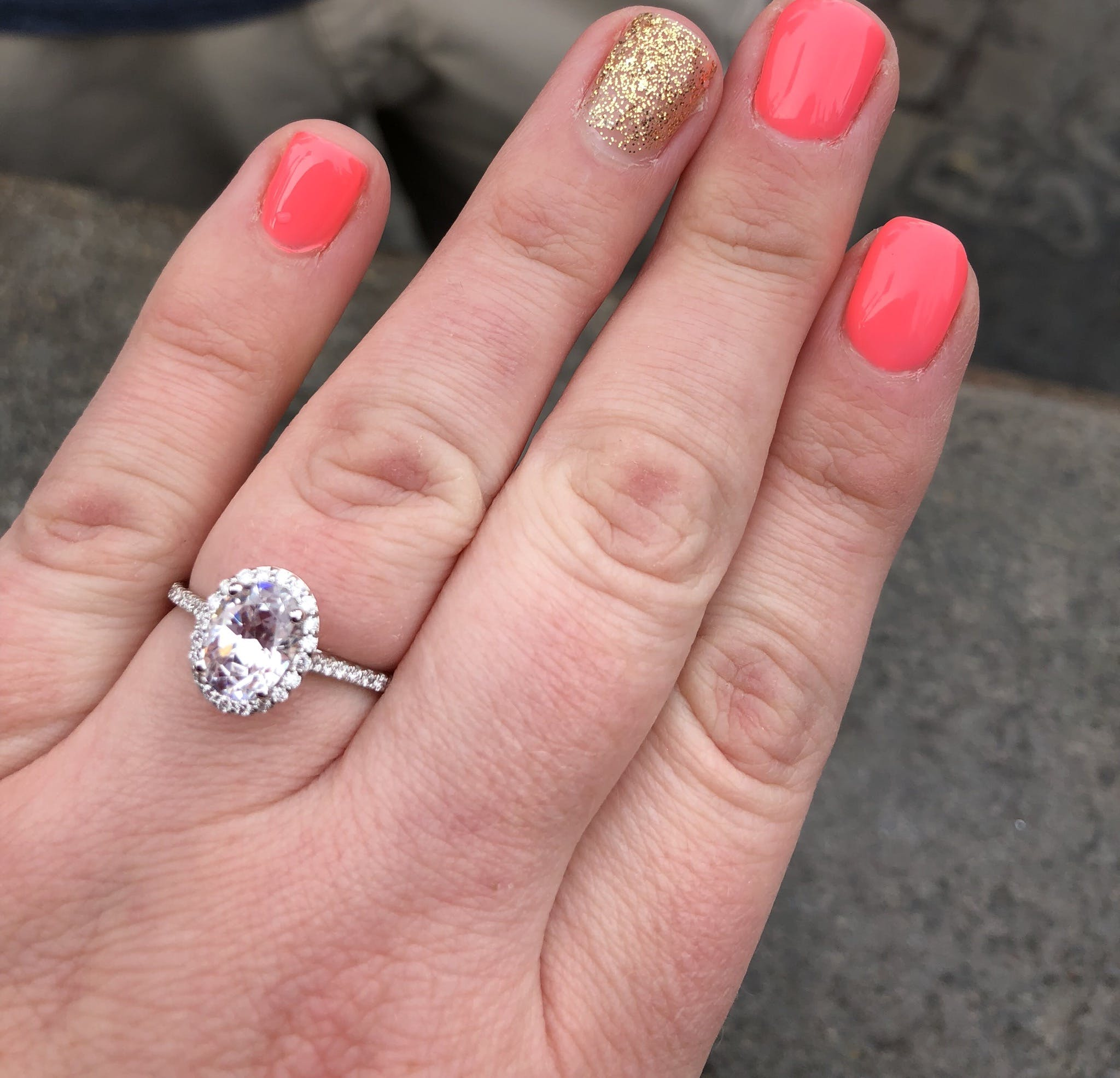 Heroine Accented Engagement Ring | MiaDonna