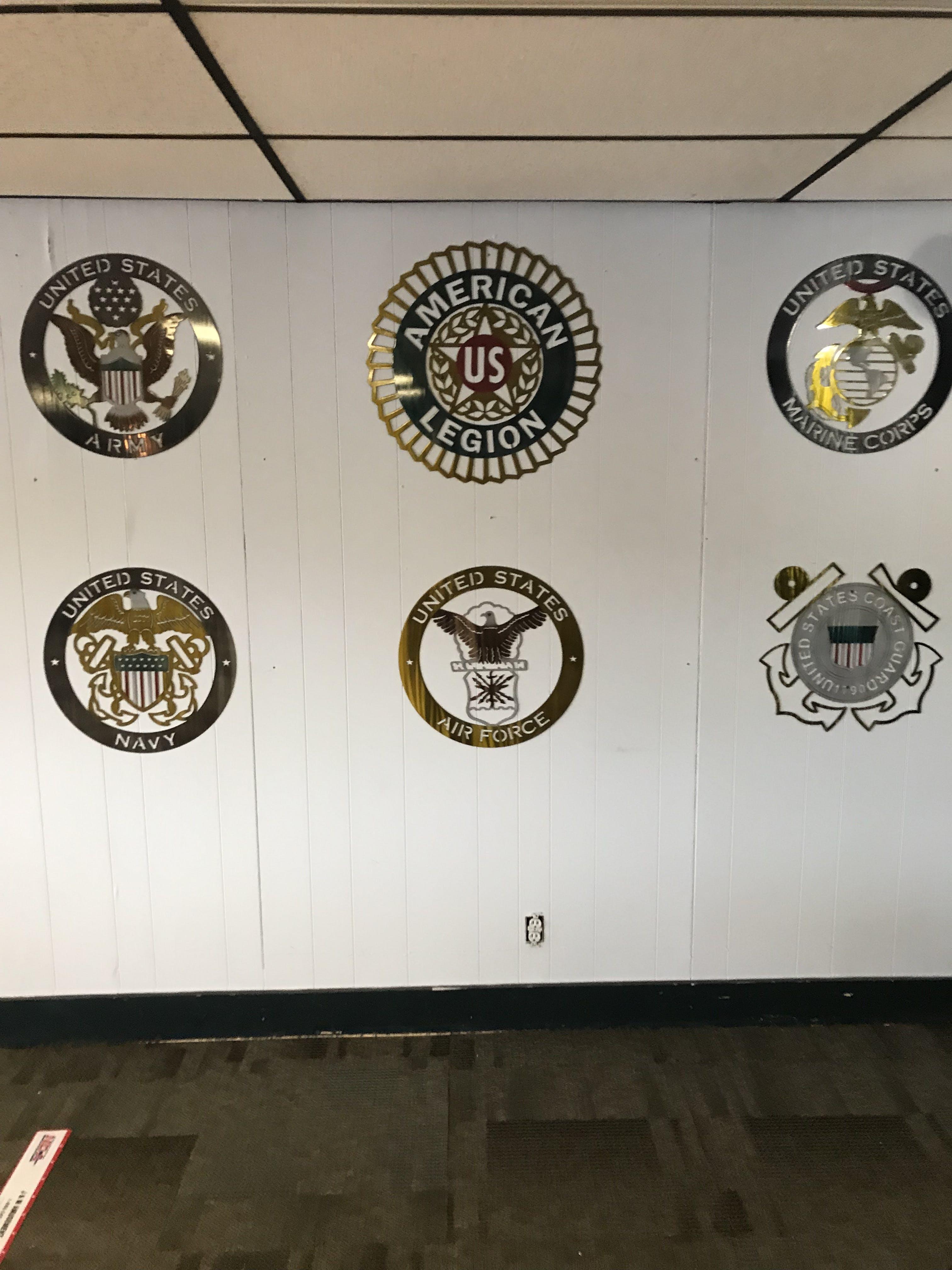 American Legion Metal Wall Art Logo