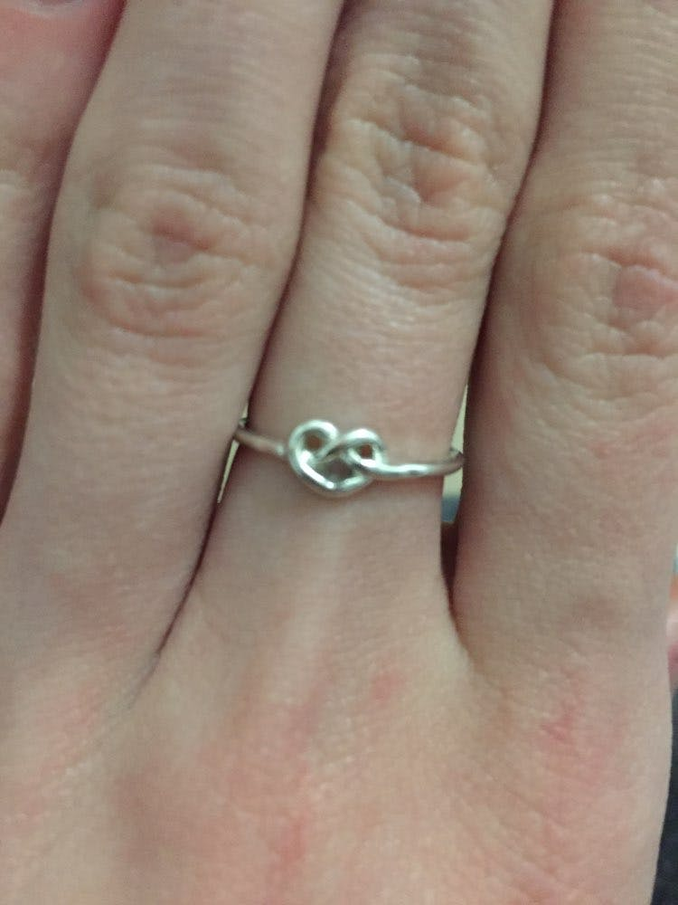 Heart Knot Ring Mindfulsouls