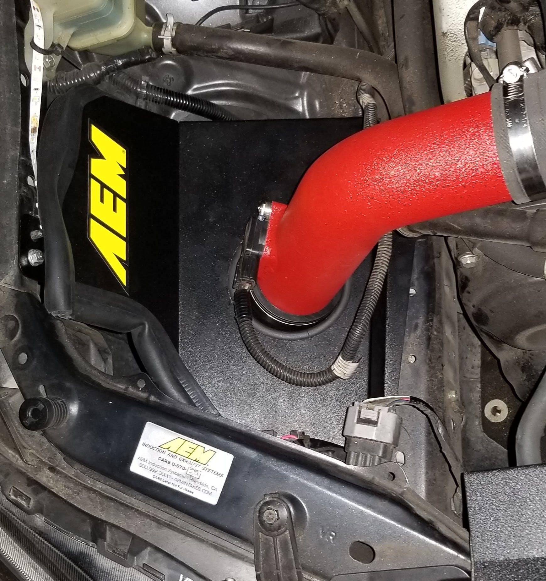 STi AEM 21-735WB Cold Air Intake System for 2015 Subaru WRX