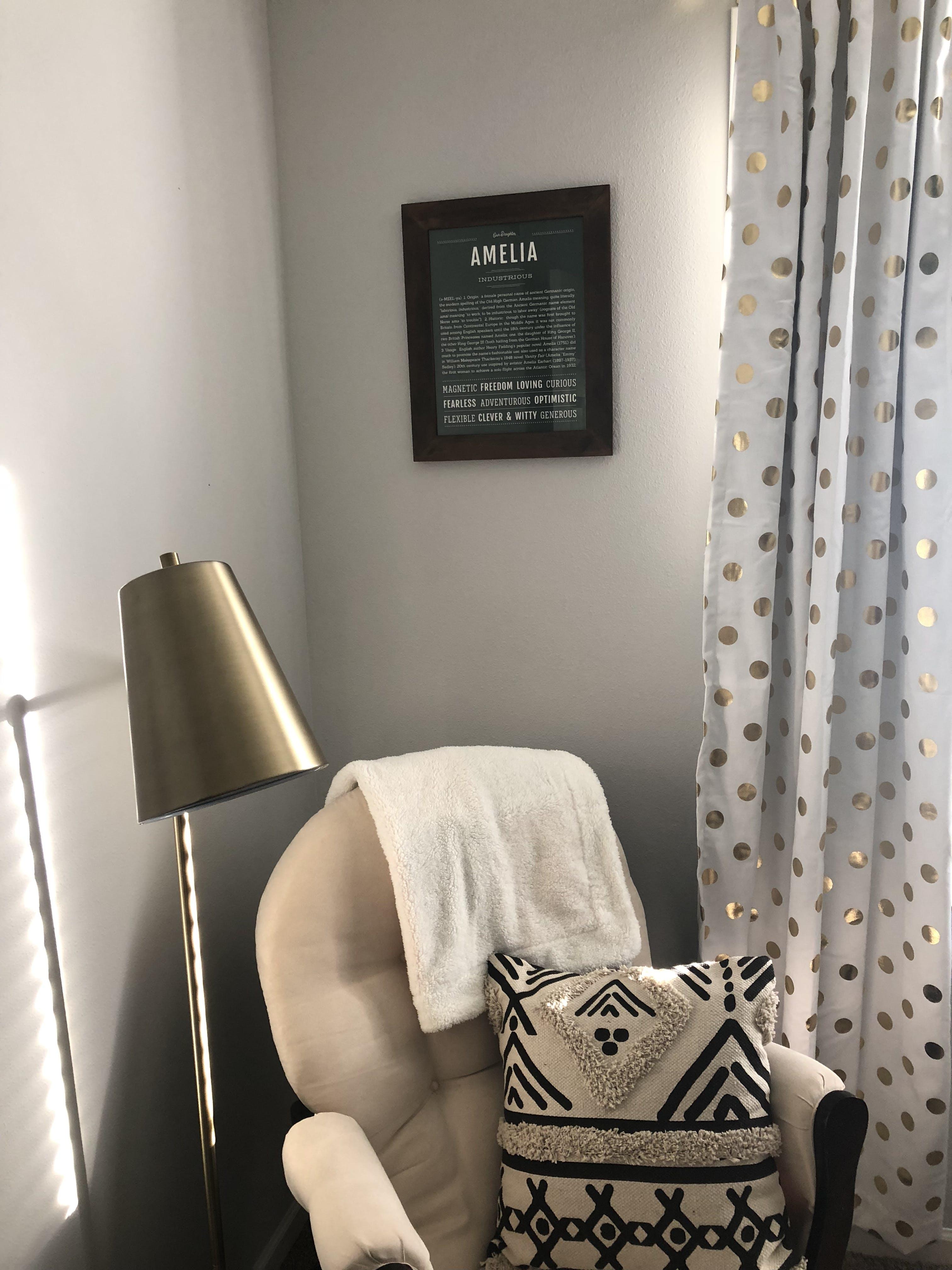Amelia | Classic Name Print