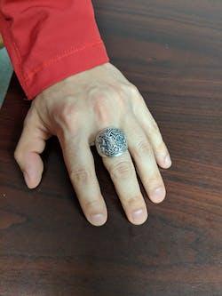Tree of Life Yggdrasil Viking Silver Ring