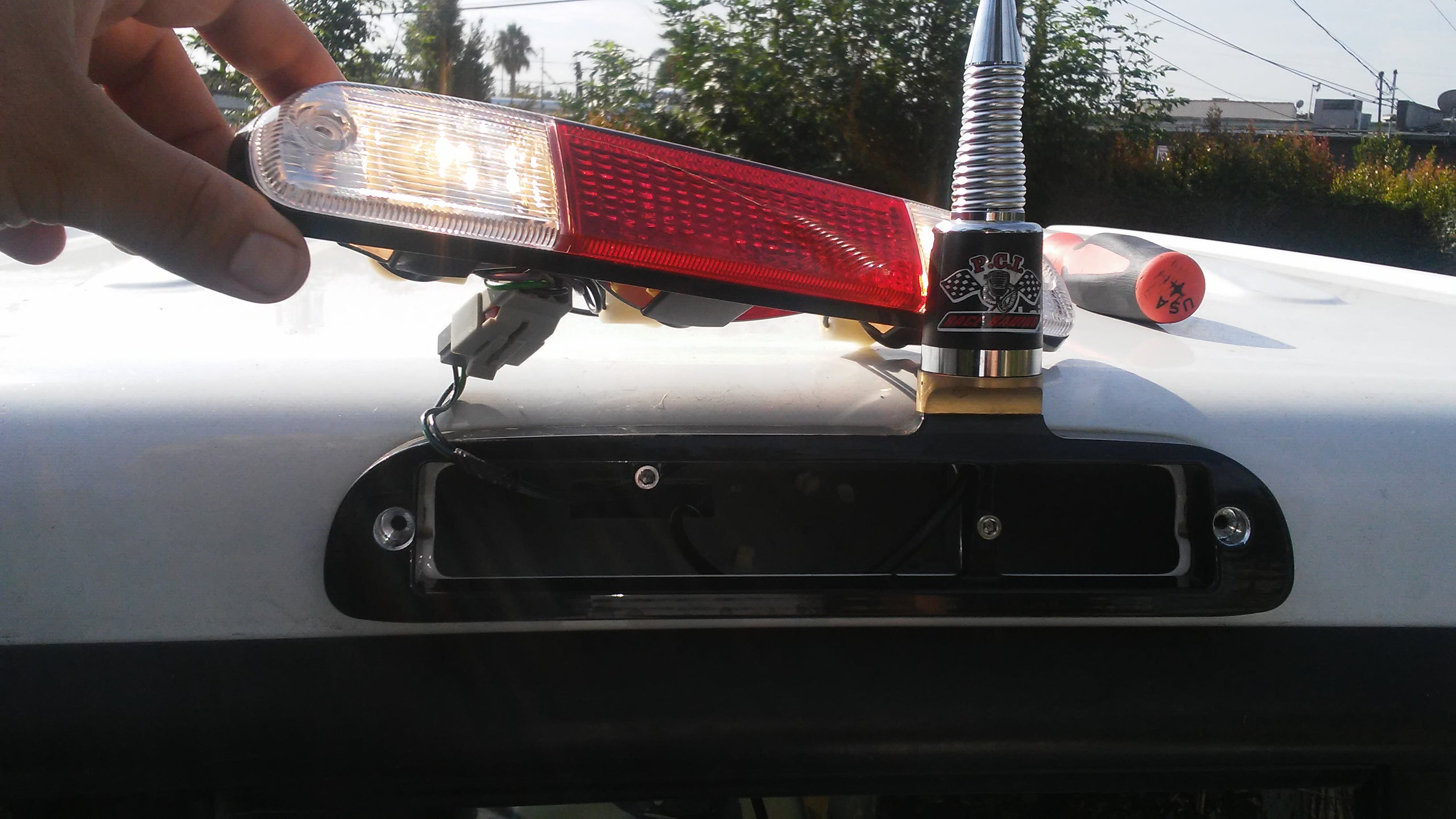 Brake Light Antenna Mount Pci Race Radios