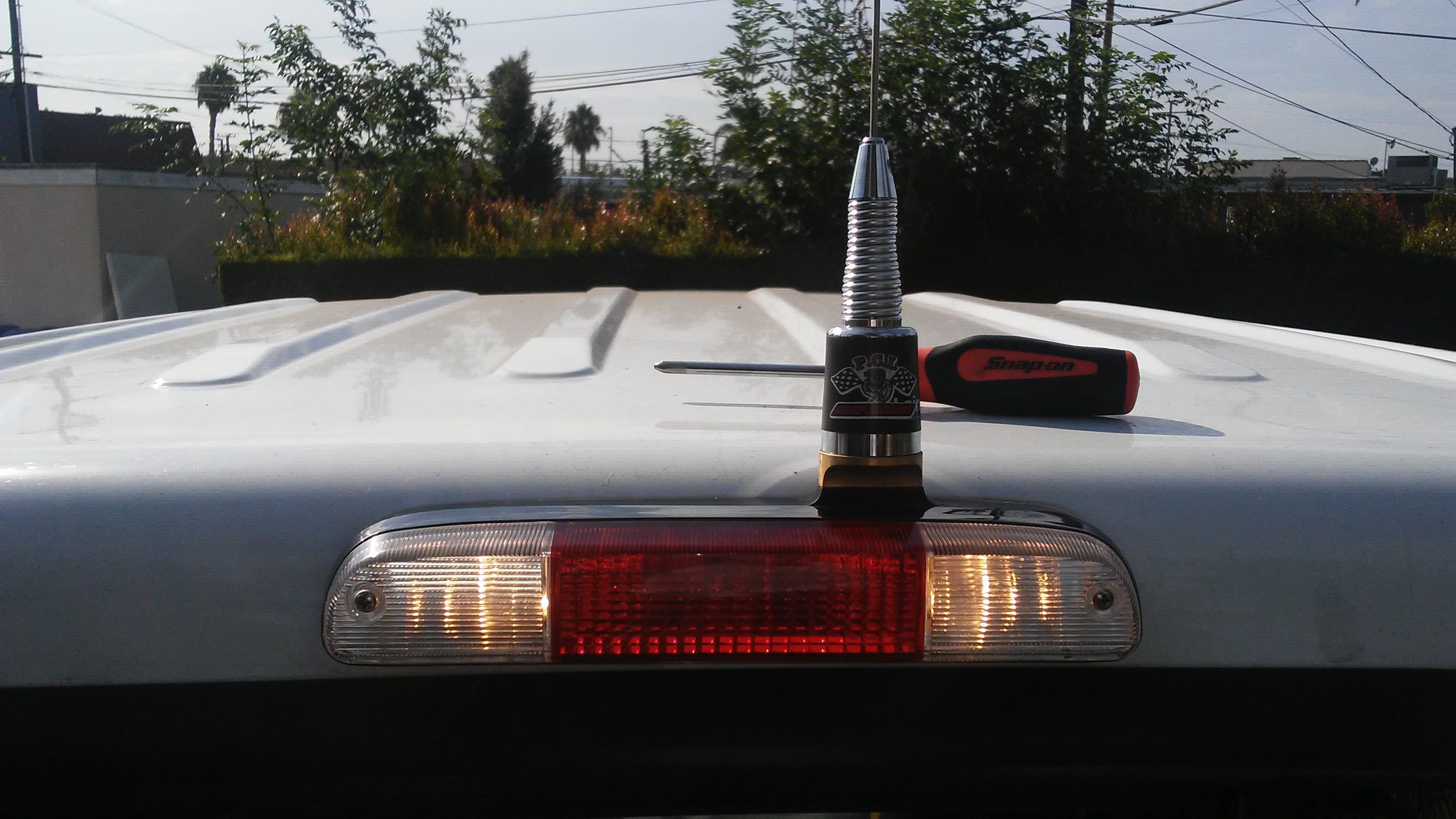 Brake Light Antenna Mount Pci Race Radios