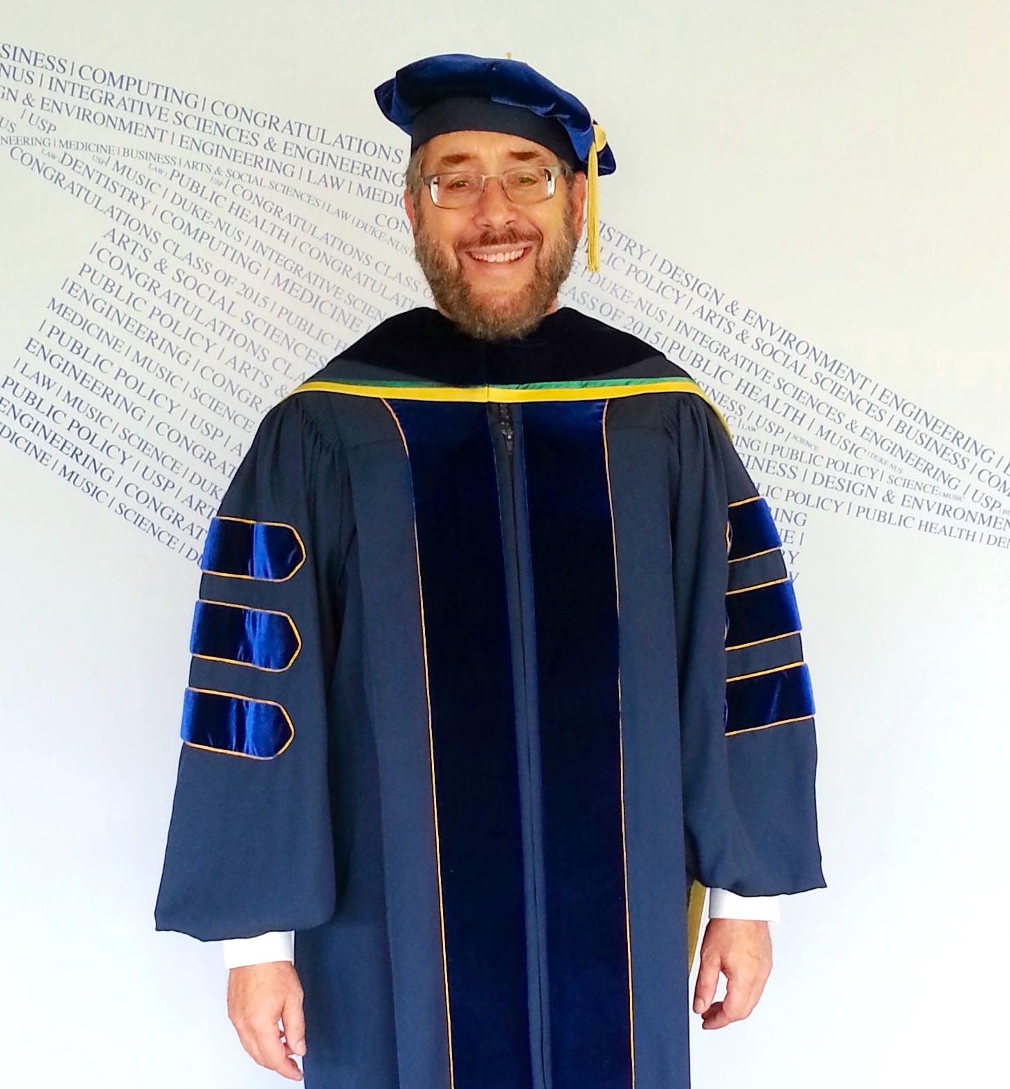 University of California PhD Regalia
