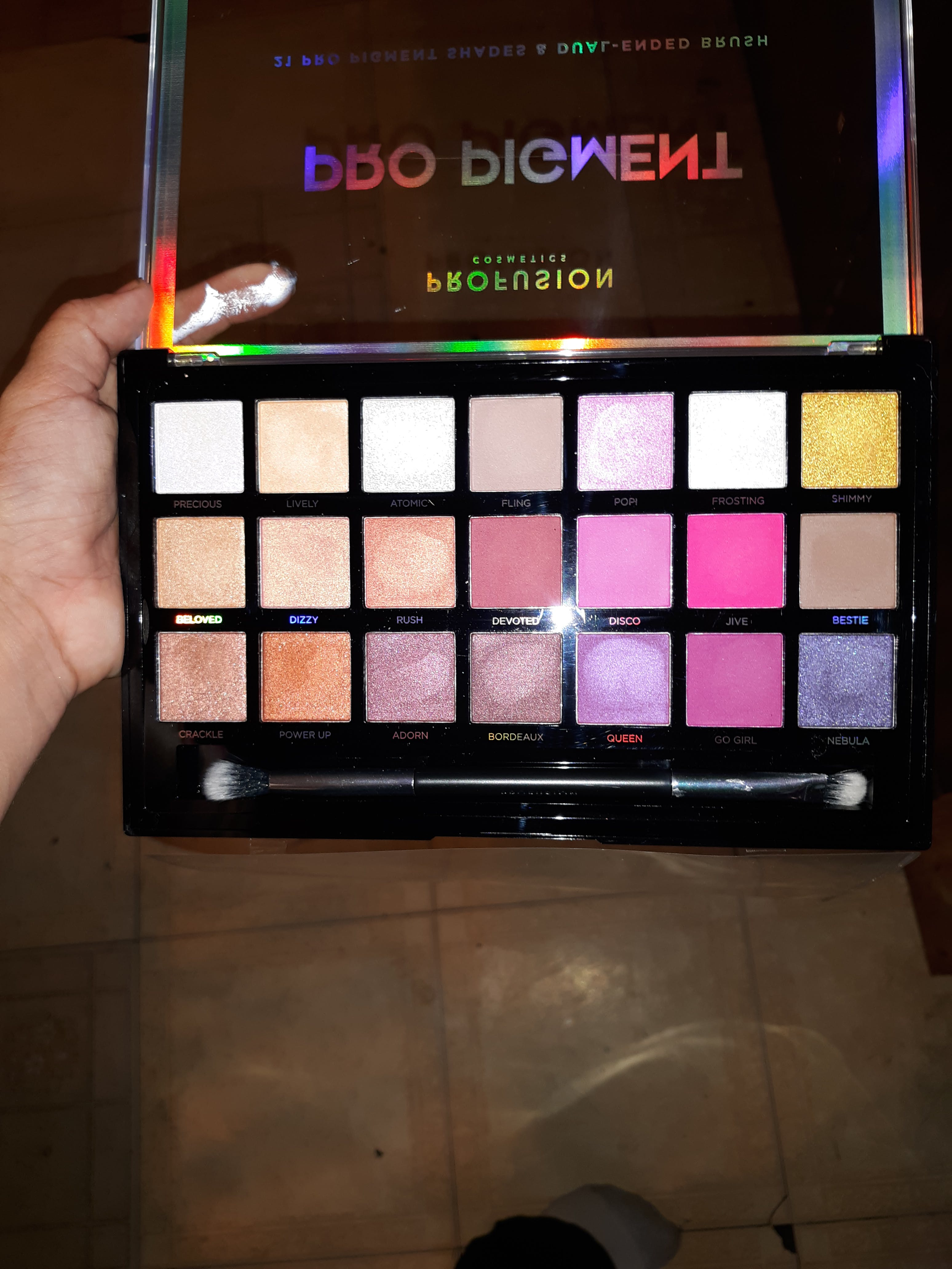 b8da42663b I highly recommend buying this palette it blends out so easy and they are  so pigmented you really need to go in with a light hand with the pinks an  Purples ...