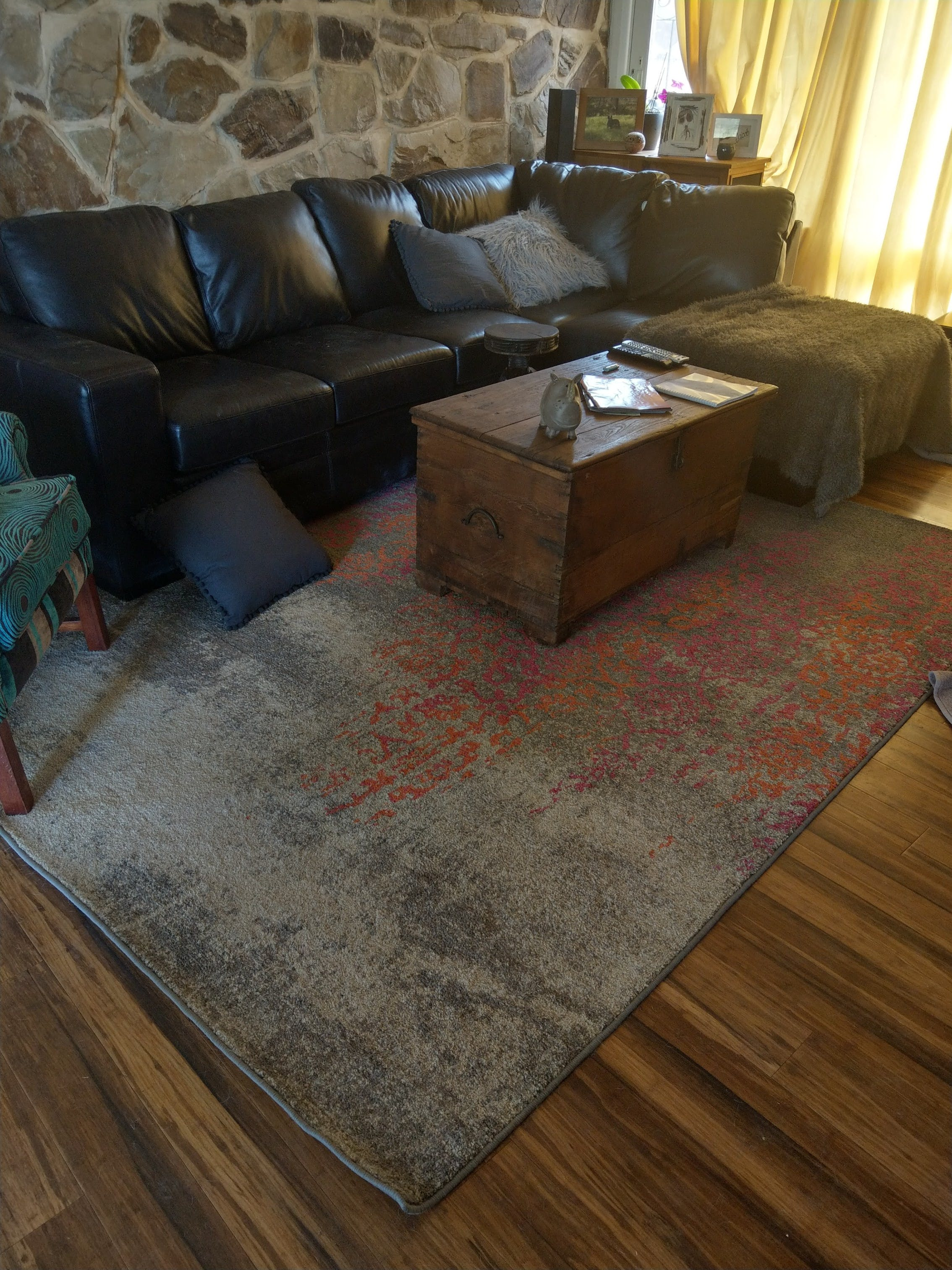 Rugsofbeauty Com Au Replied Dear Larnie Thank You Very Much For Reviewing The Rug Purchased From Us We Are So Glad That Hy With Your