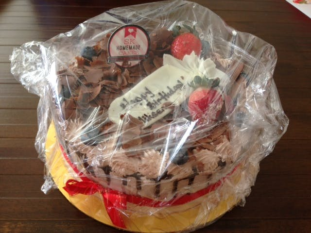 1548508f75 I received feedback the cake was nice. It would taste better if there were  more berries included. Overall