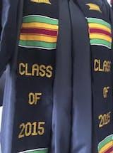 Class of 2017 Kente Cloth Graduation Stole