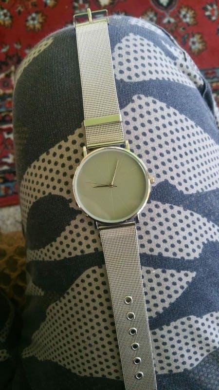 Business Stainless Steel Men Luxury Wristwatch