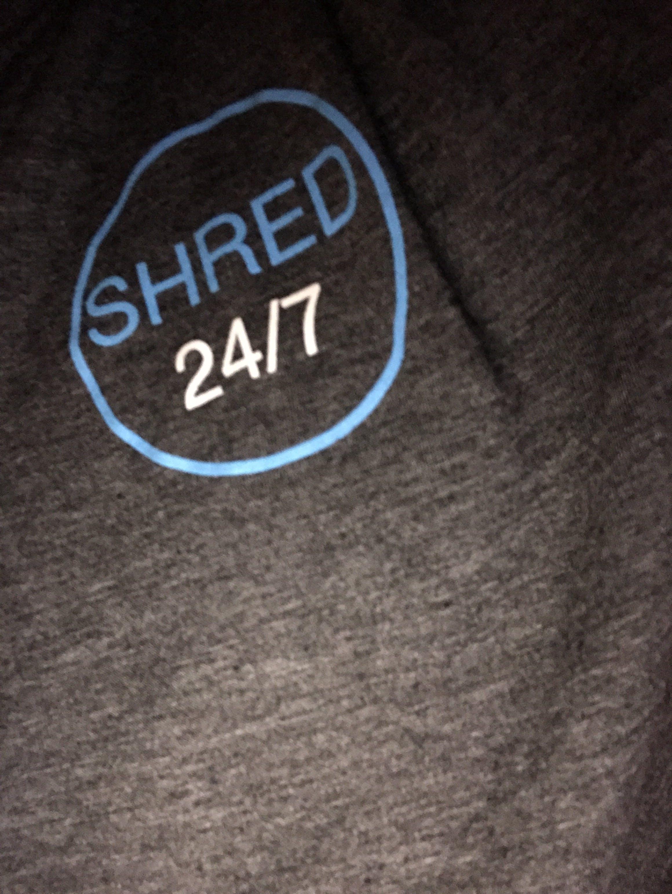 SHRED 24/7 T-SHIRT