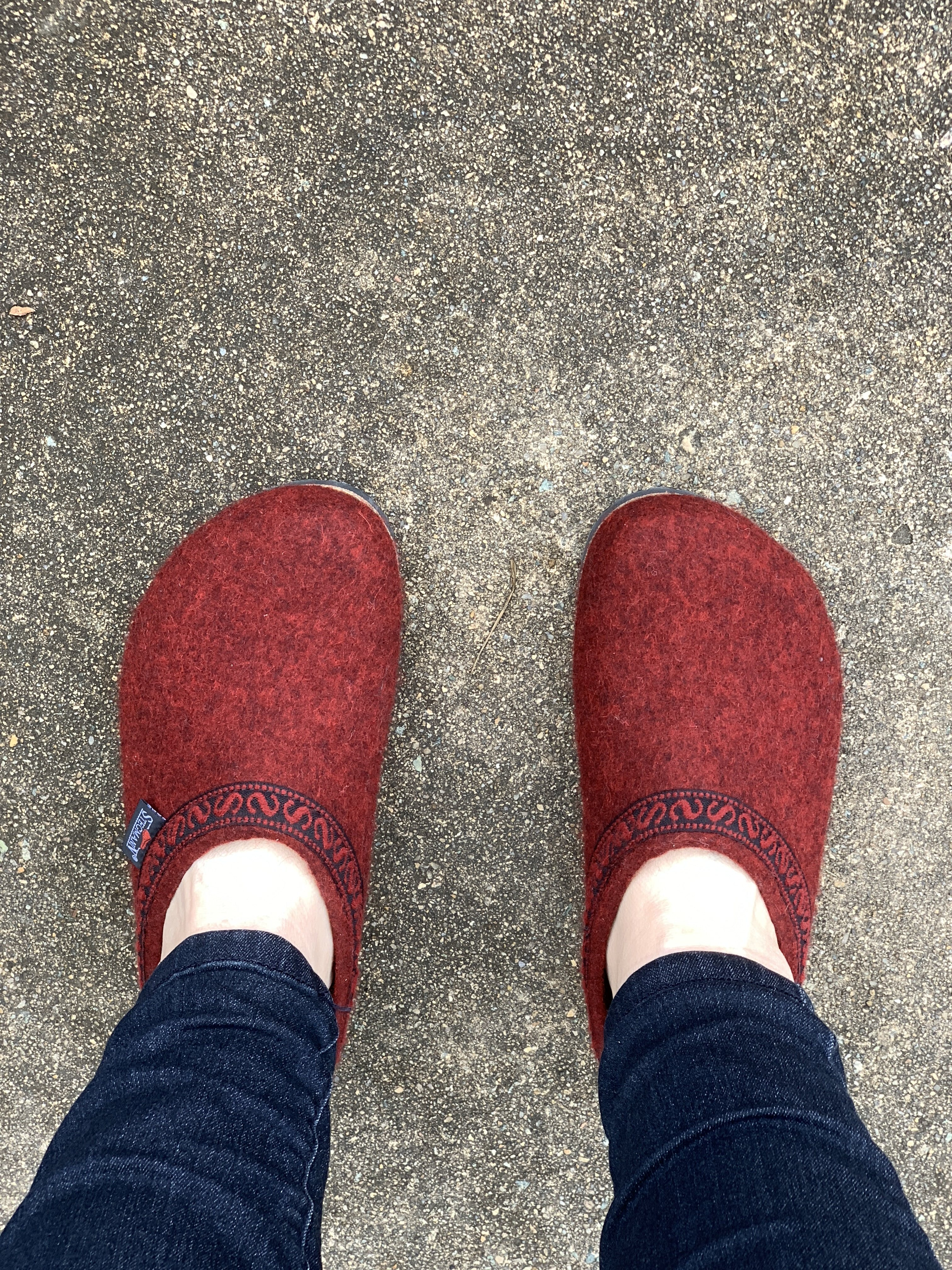 Women's Original 108 Clog - Merlot Wool Felt