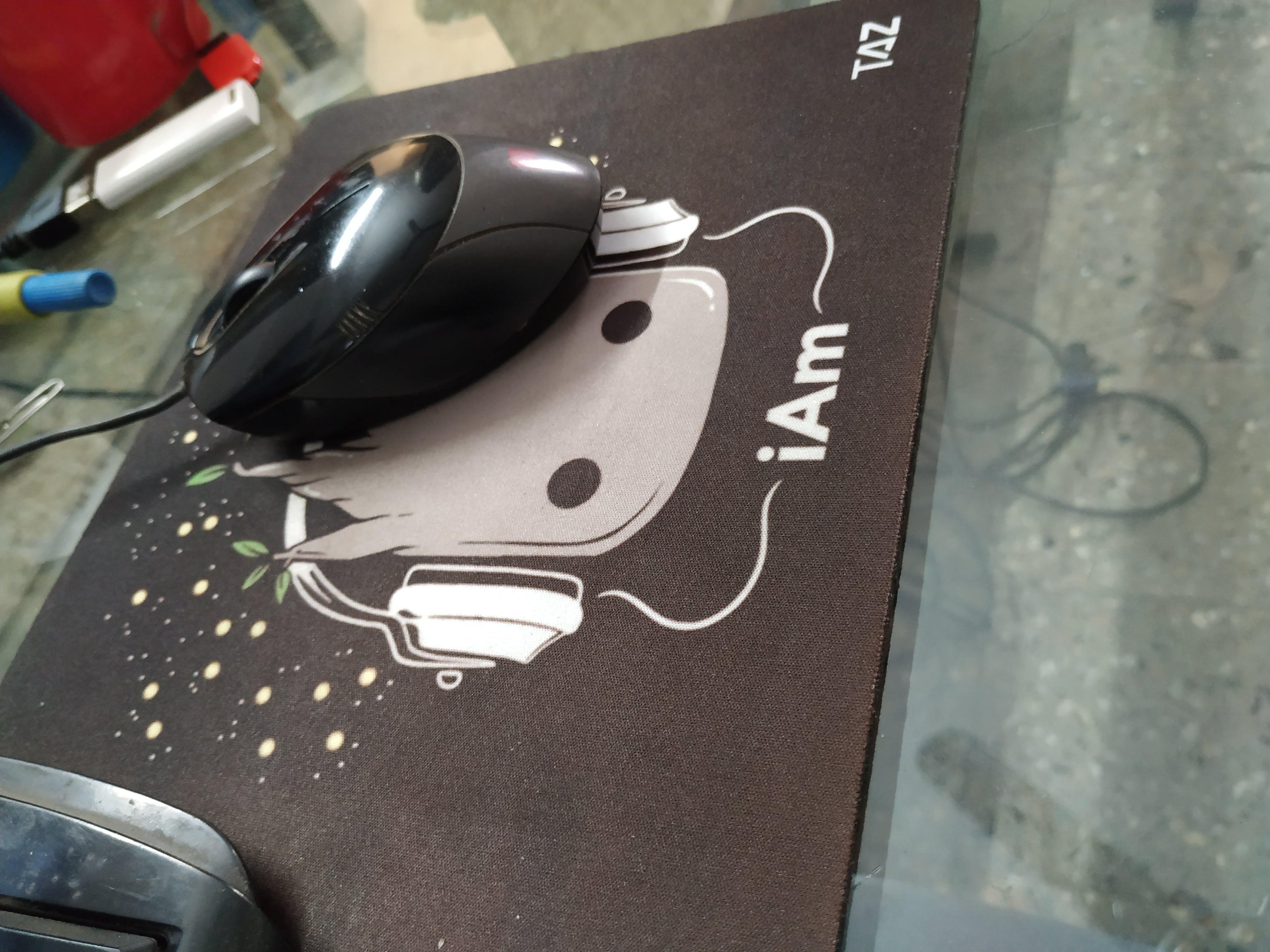 Minimal-I Am Groot Printed Mouse Pad