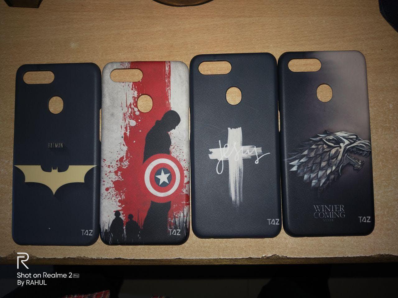 TraTec Jesus Printed Case For Xiaomi Redmi 3s Prime