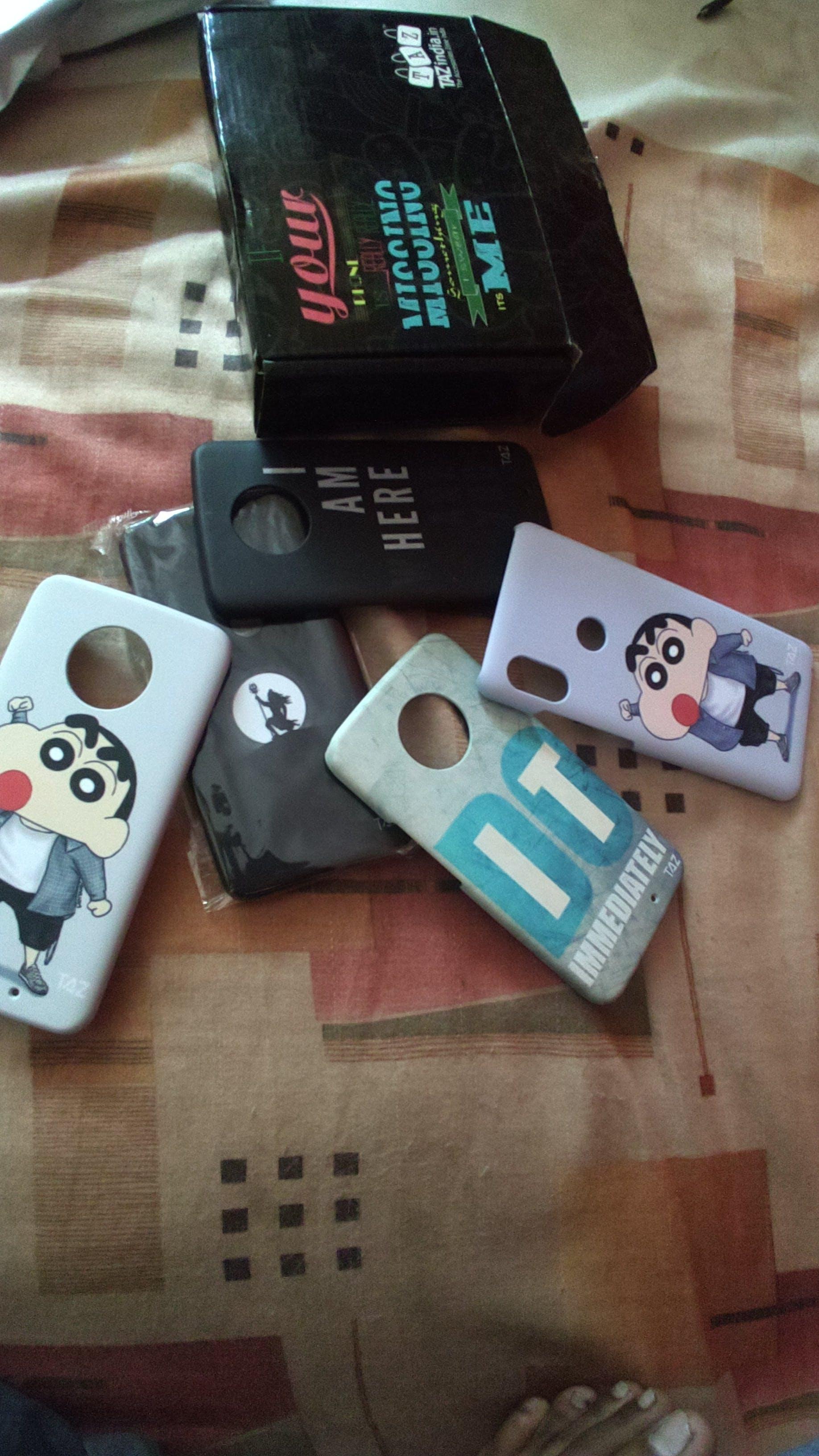 TraTec Shinchan Printed Case For Xiaomi Redmi Note 5 Pro