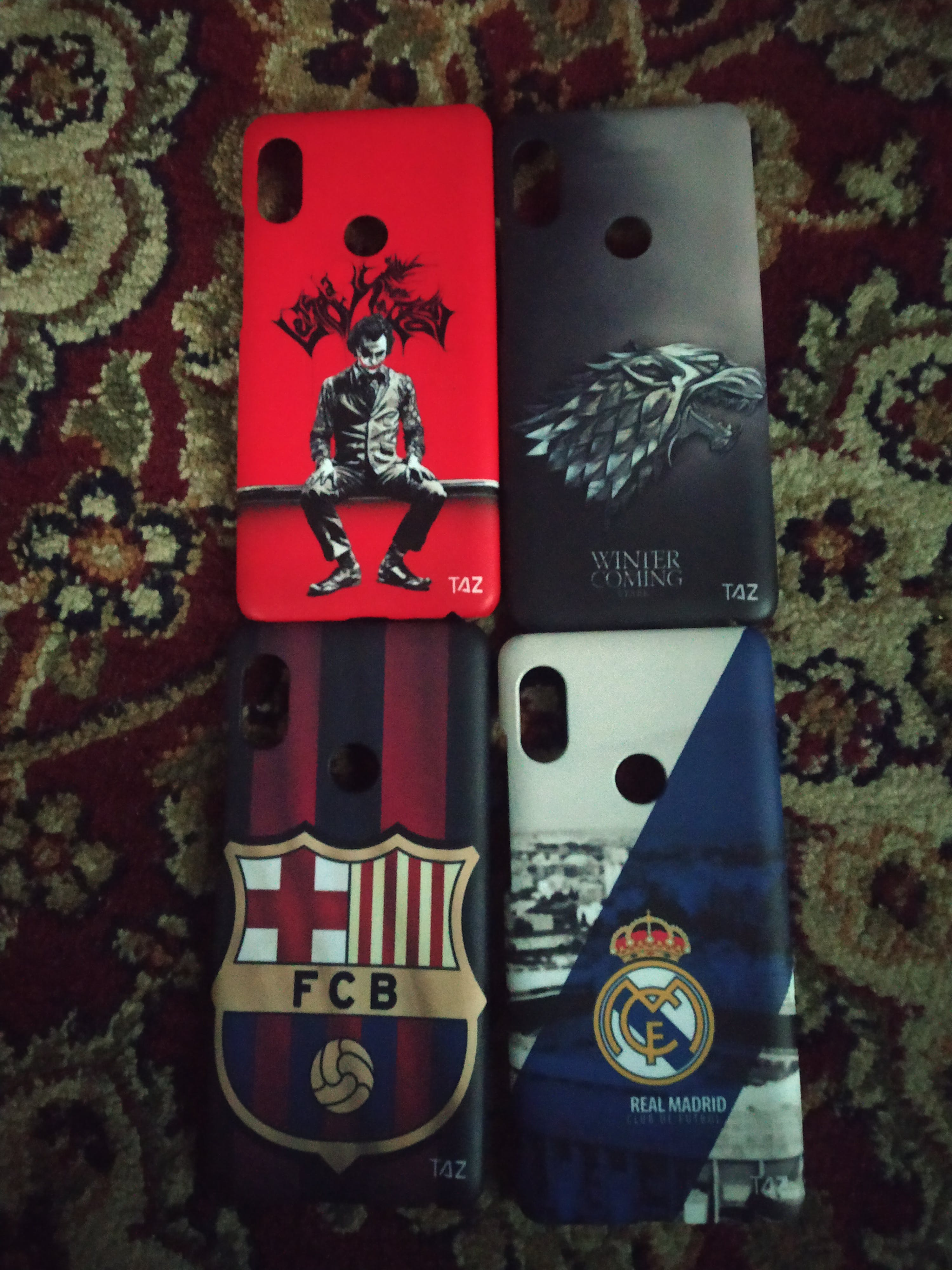 TraTec Football - Manchester United Printed Case For Xiaomi Redmi Note 5 Pro