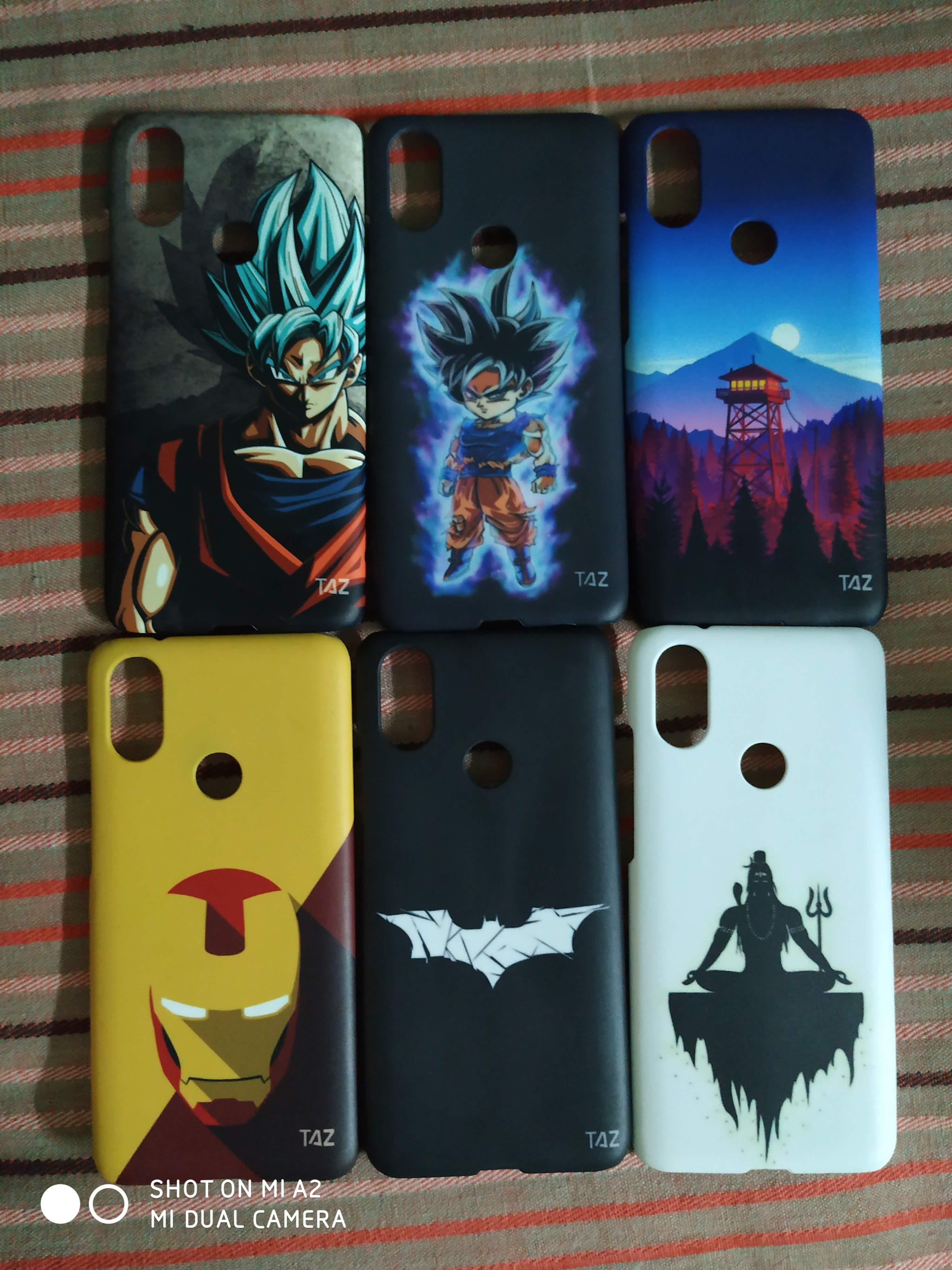 TraTec Lord Shiva Printed Case For Xiaomi MiA2
