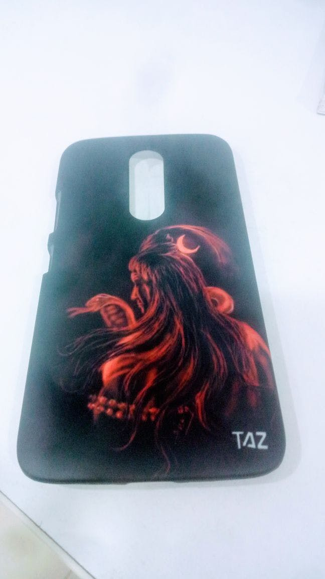 TraTec Lord Shiva Printed Case For Moto M