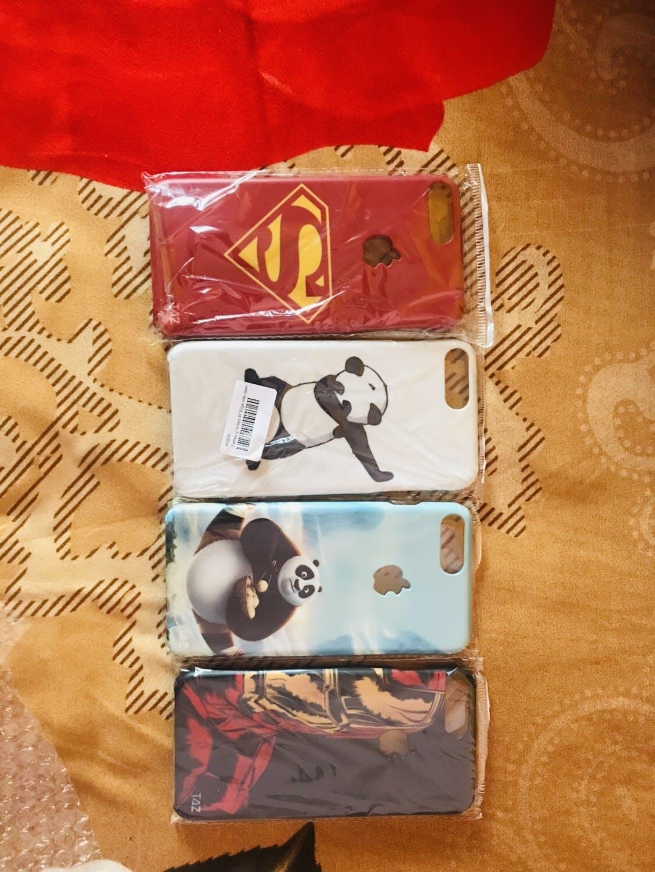 TraTec Superman Printed Case For Apple iPhone 7 Plus (Apple Logo Cut)